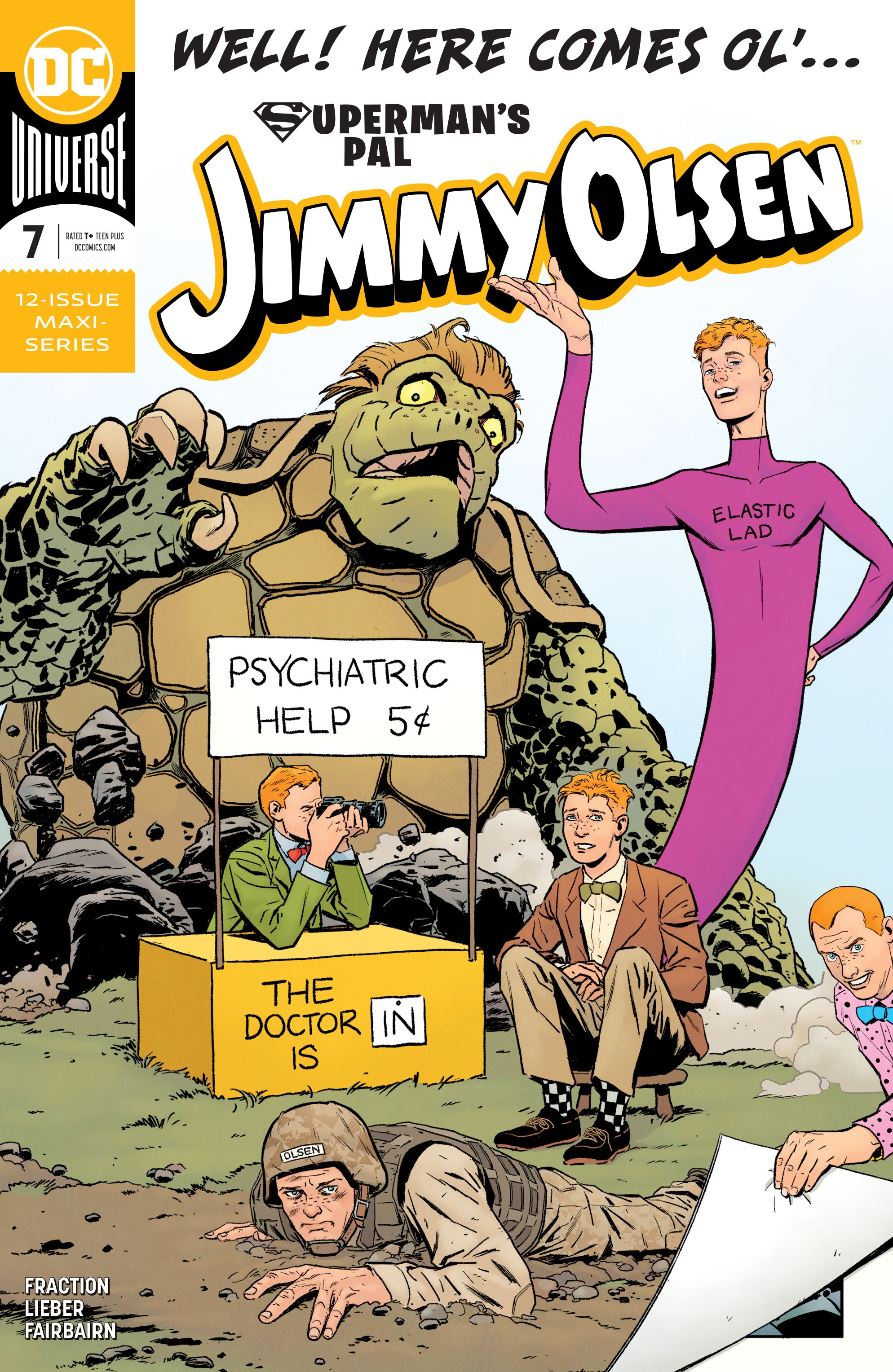 Supermans Pal Jimmy Olsen (2019) 7 Page 1