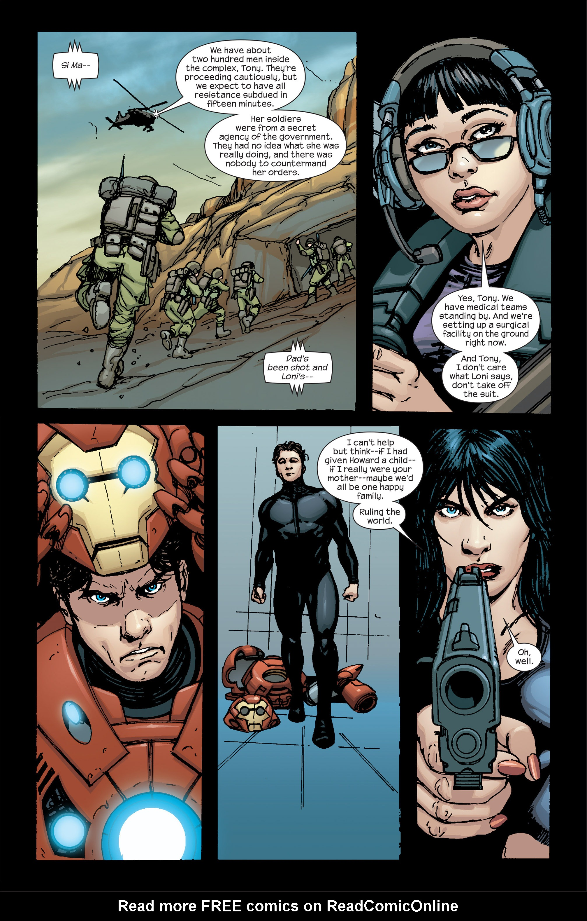 Read online Ultimate Iron Man II comic -  Issue #5 - 22