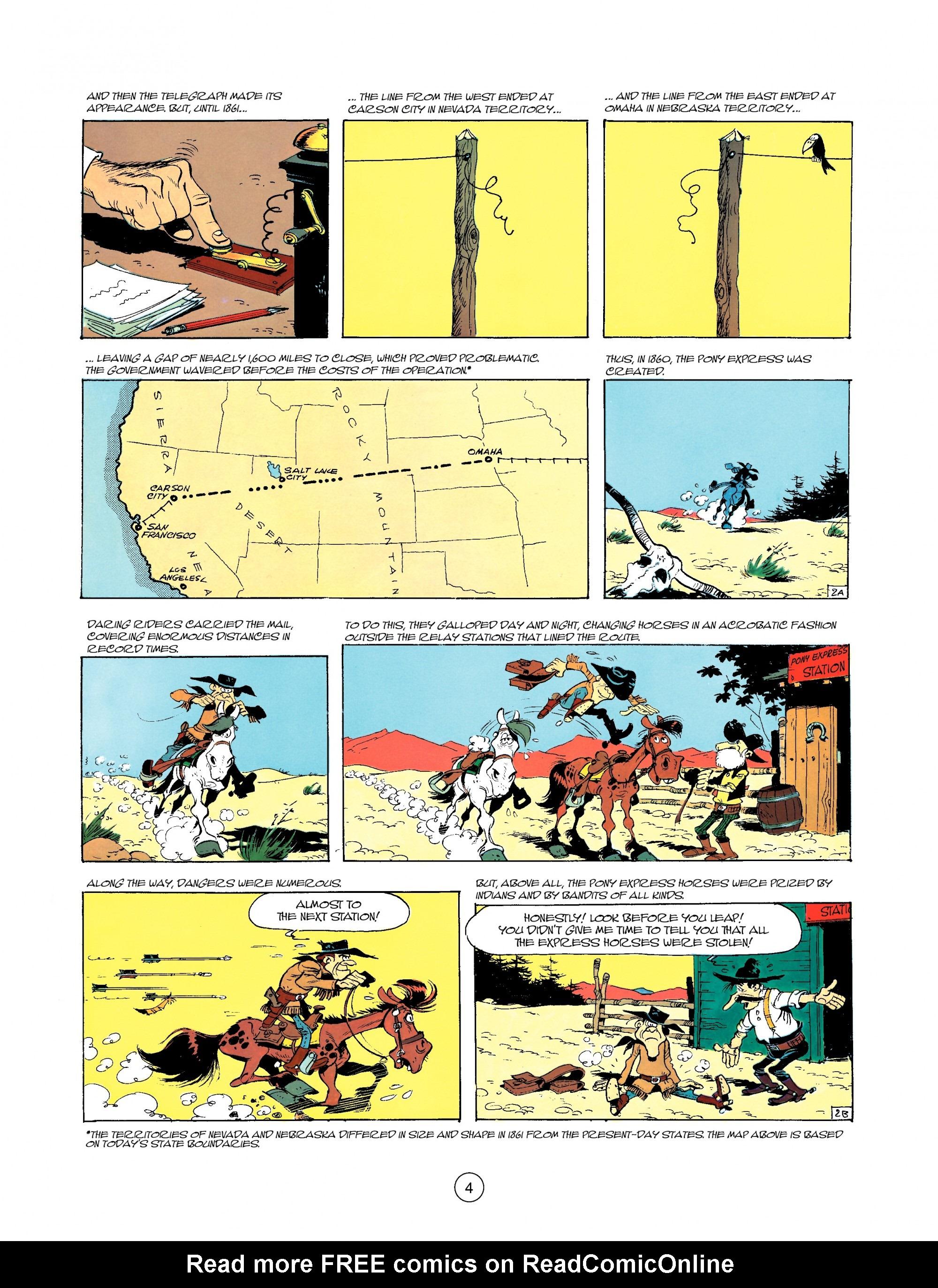 Read online A Lucky Luke Adventure comic -  Issue #35 - 4