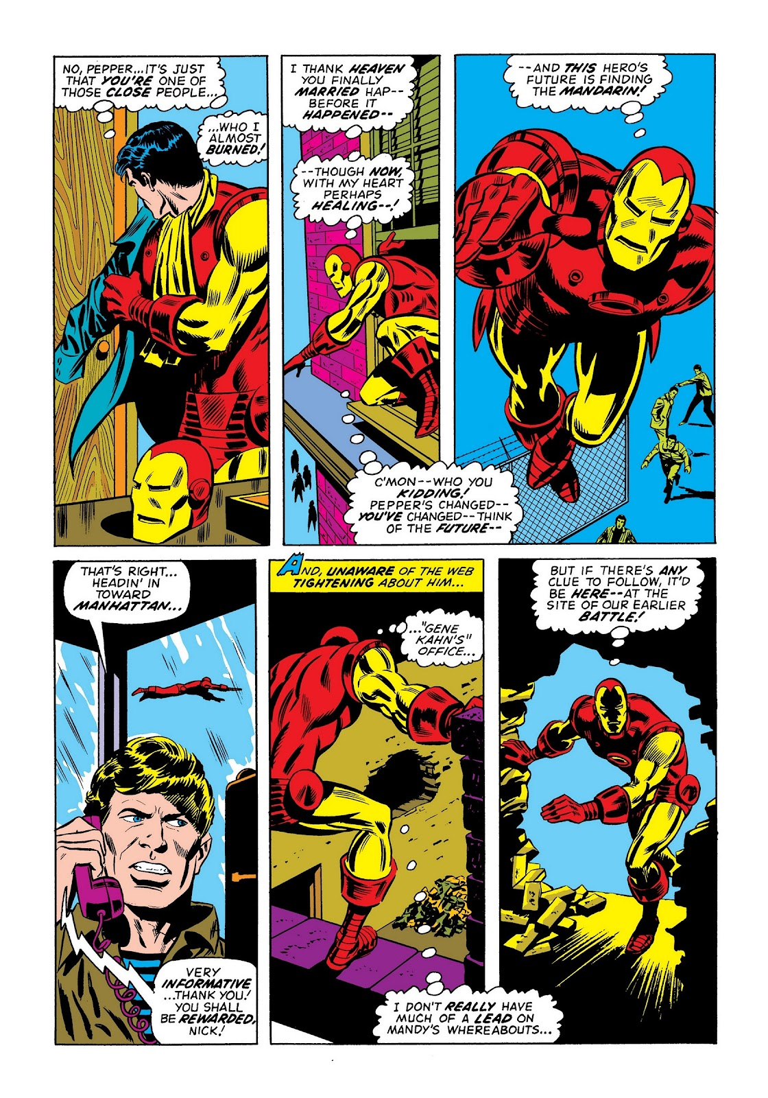Read online Marvel Masterworks: The Invincible Iron Man comic -  Issue # TPB 9 (Part 2) - 5
