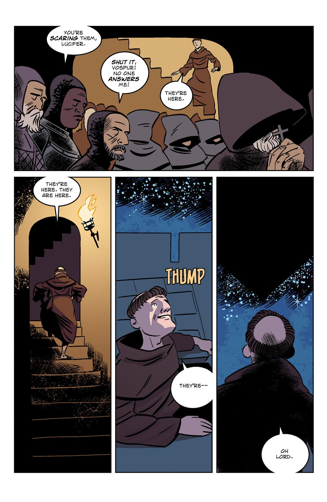 Read online Dark Ages comic -  Issue #1 - 23