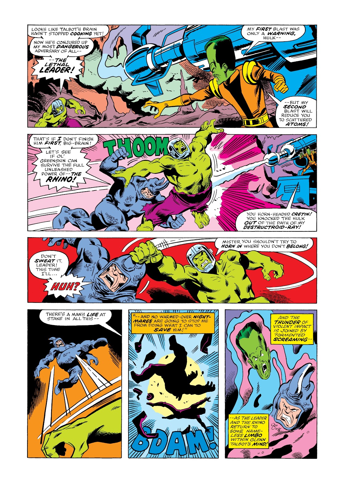 Read online Marvel Masterworks: The Incredible Hulk comic -  Issue # TPB 12 (Part 2) - 8