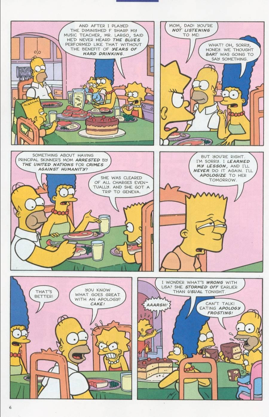 Read online Simpsons Comics comic -  Issue #71 - 7