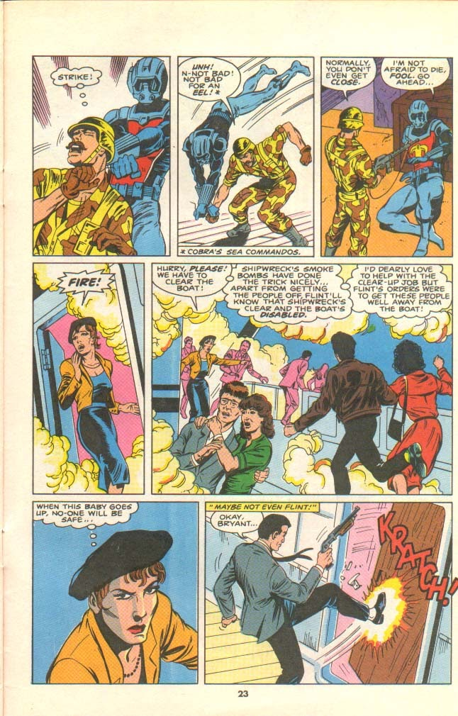 G.I. Joe European Missions issue 8 - Page 19