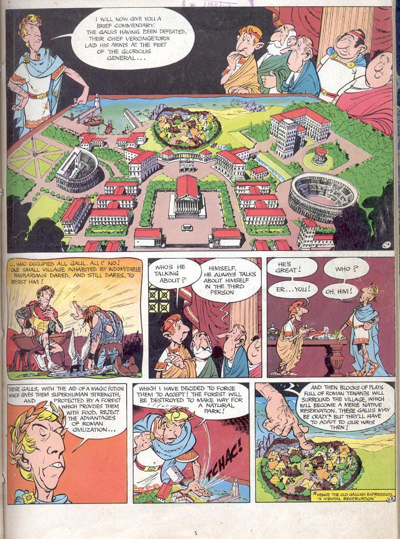 Read online Asterix comic -  Issue #17 - 3