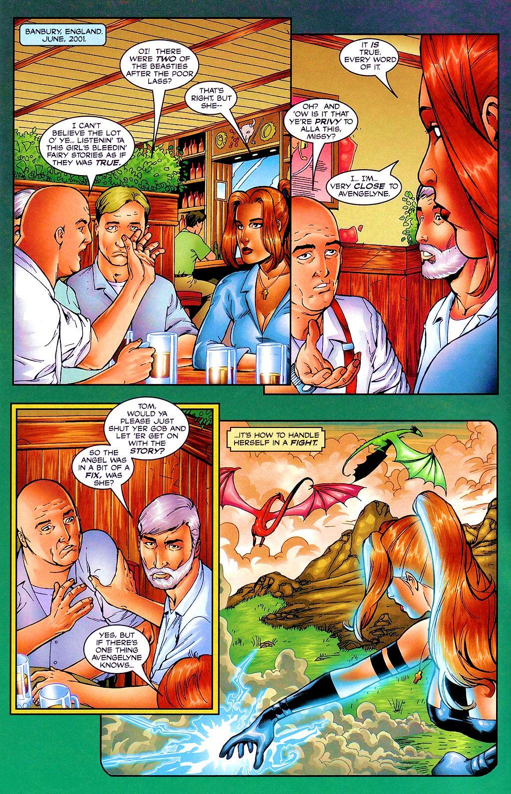Read online Avengelyne: Dragon Realm comic -  Issue #1 - 5