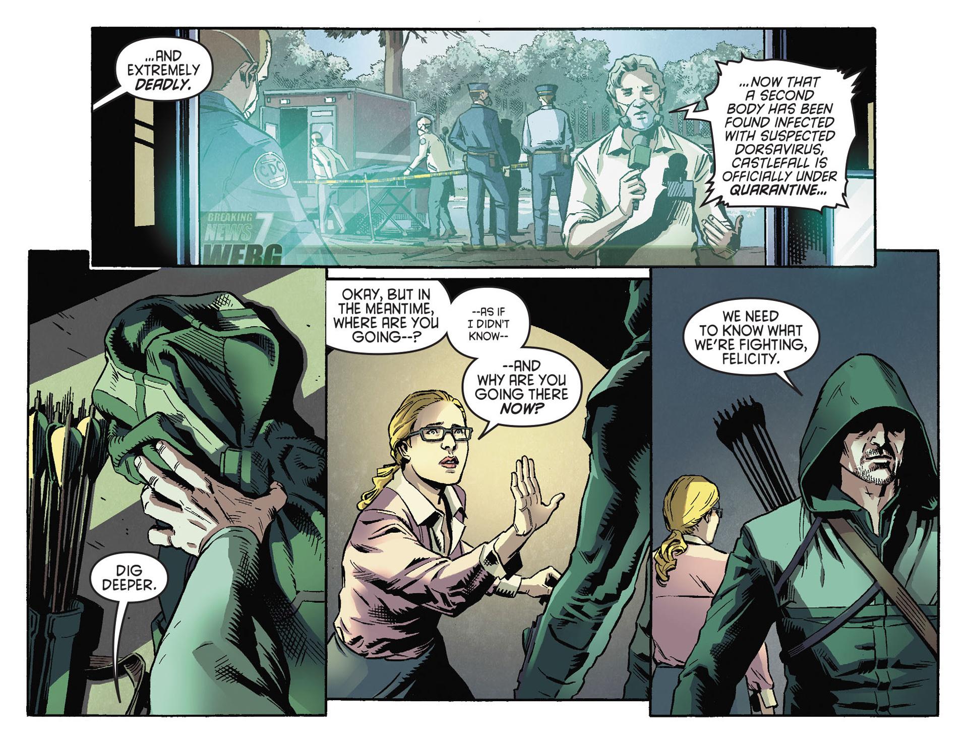 Read online Arrow [II] comic -  Issue #30 - 6