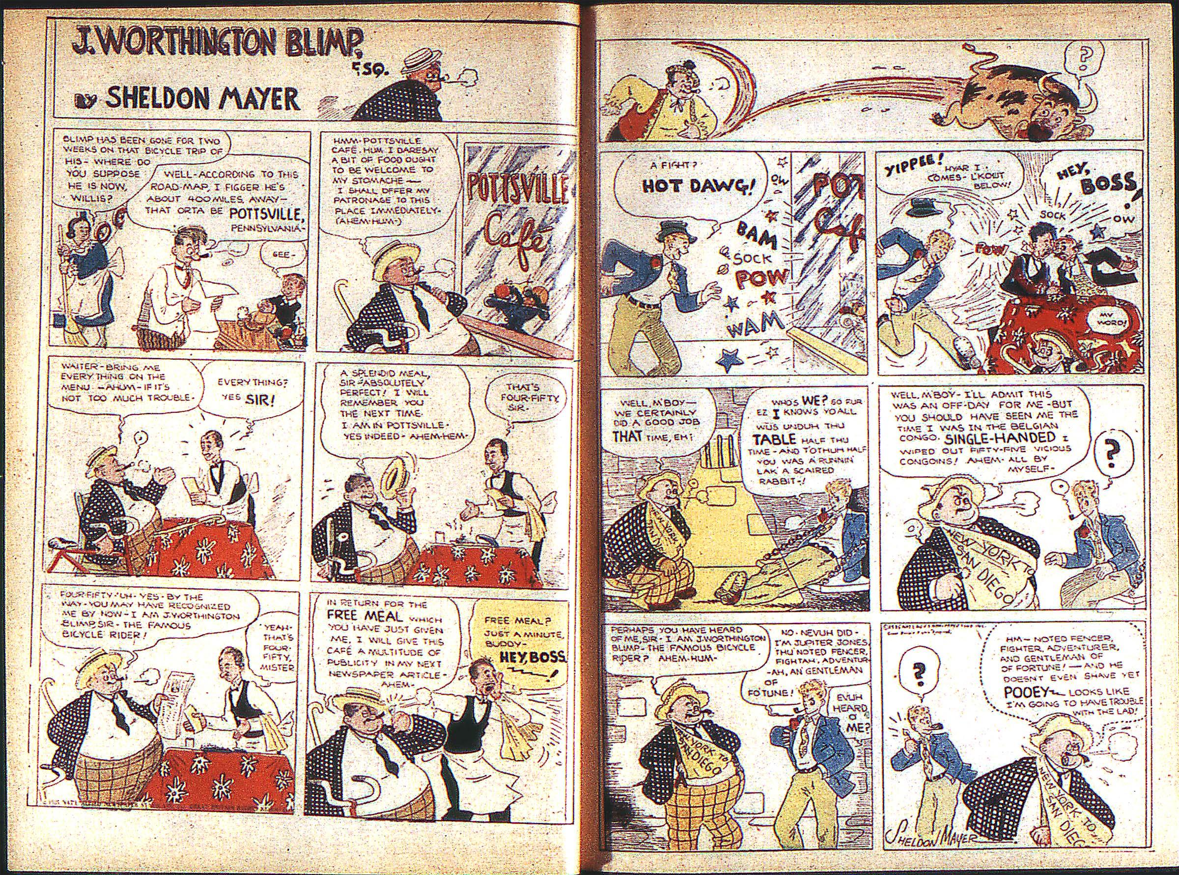 Read online Adventure Comics (1938) comic -  Issue #1 - 9
