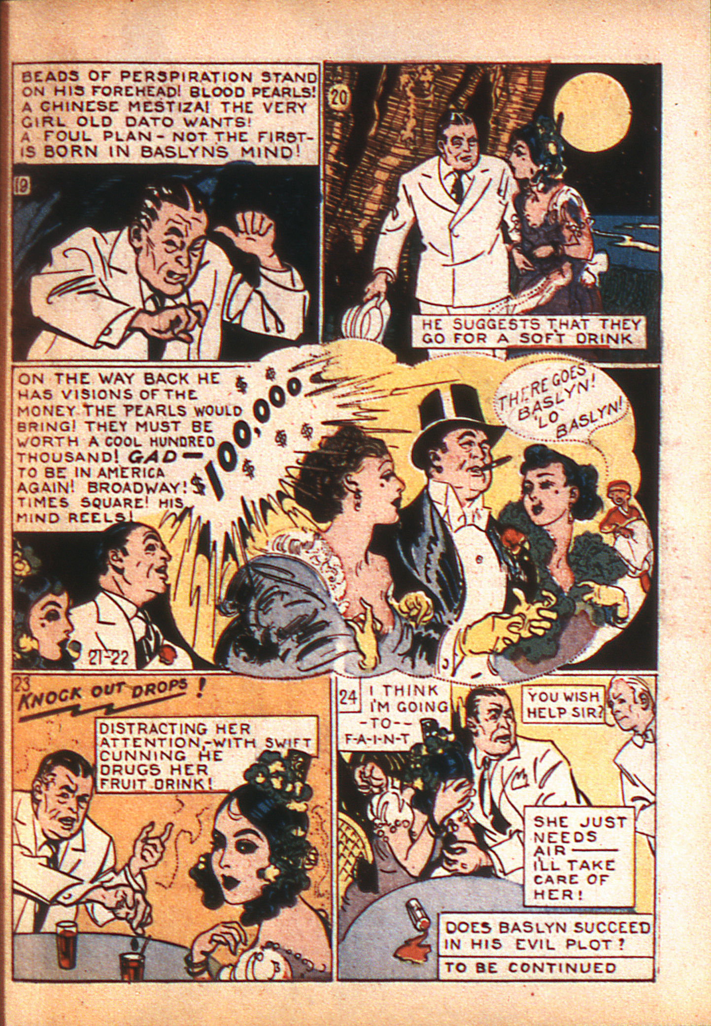 Read online Adventure Comics (1938) comic -  Issue #8 - 20
