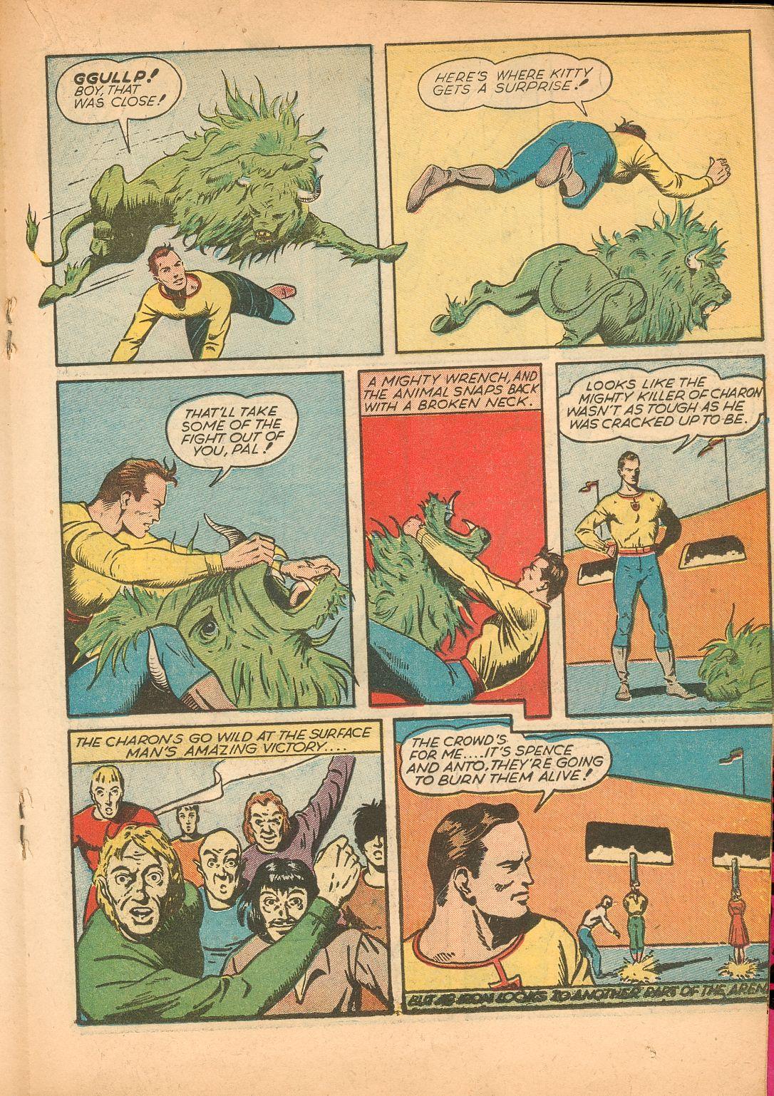 Read online Shadow Comics comic -  Issue #11 - 35