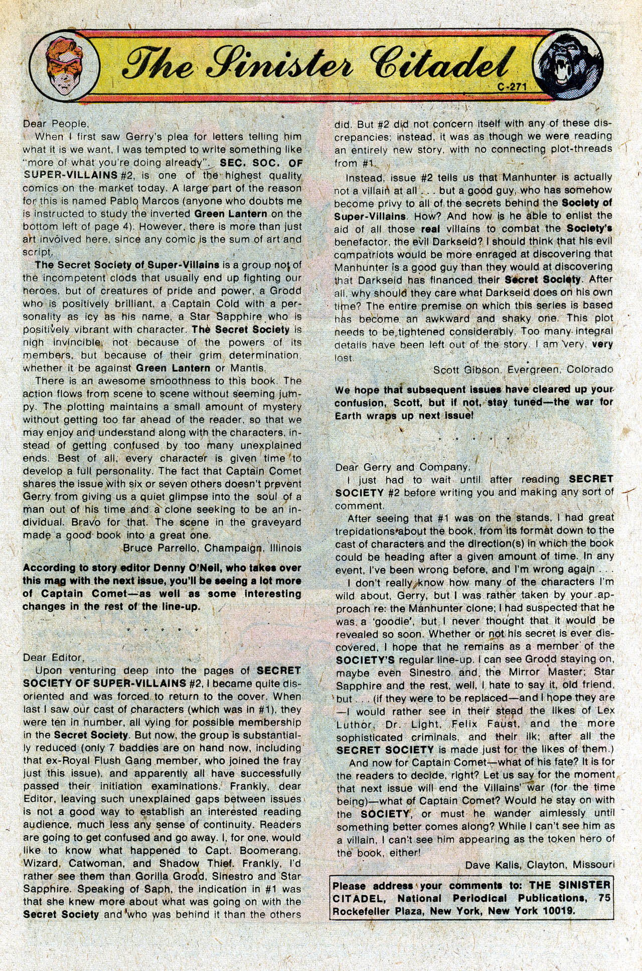 Read online Secret Society of Super-Villains comic -  Issue #4 - 31