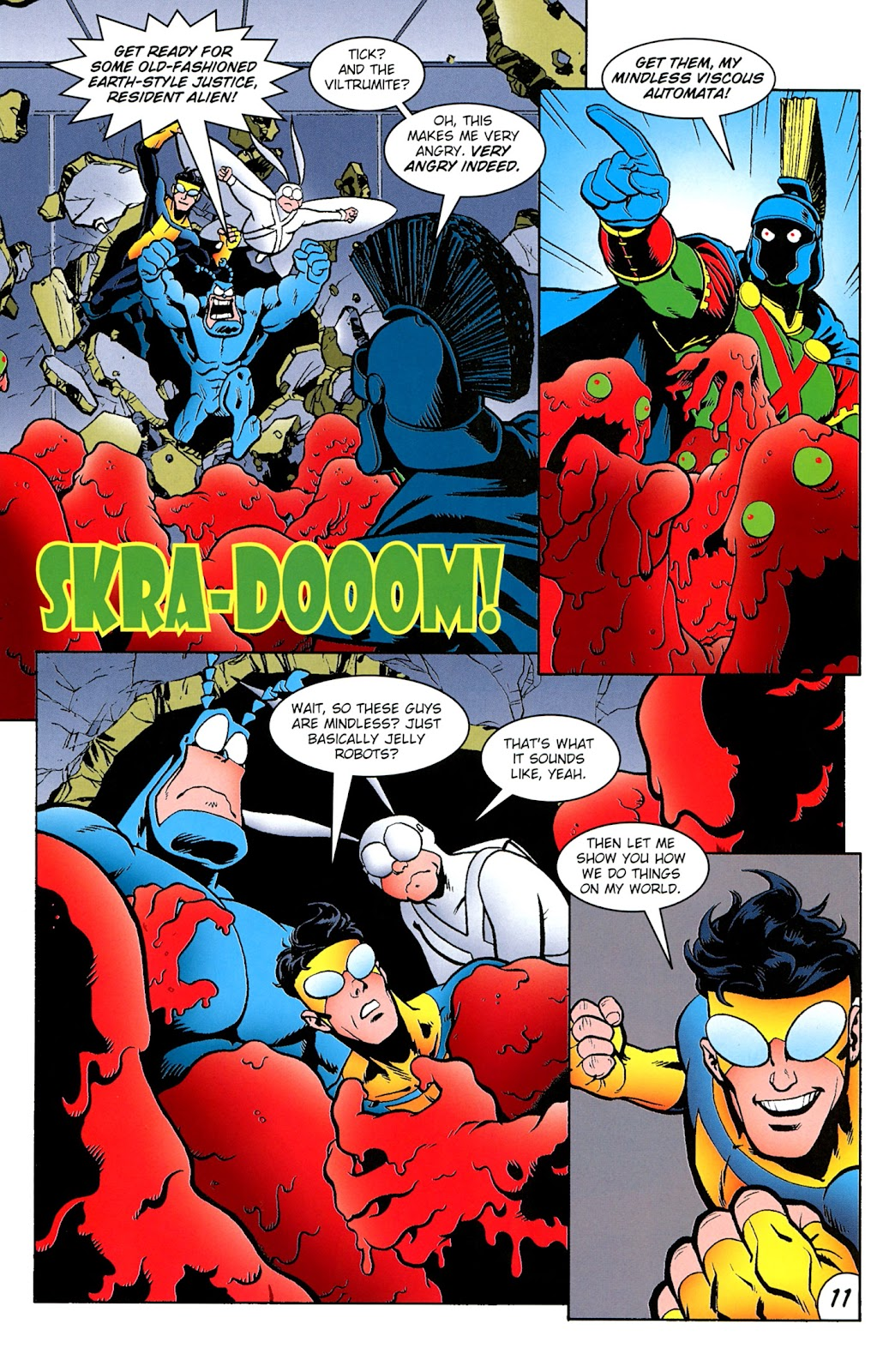 Read online The Tick comic -  Issue #100 - 13