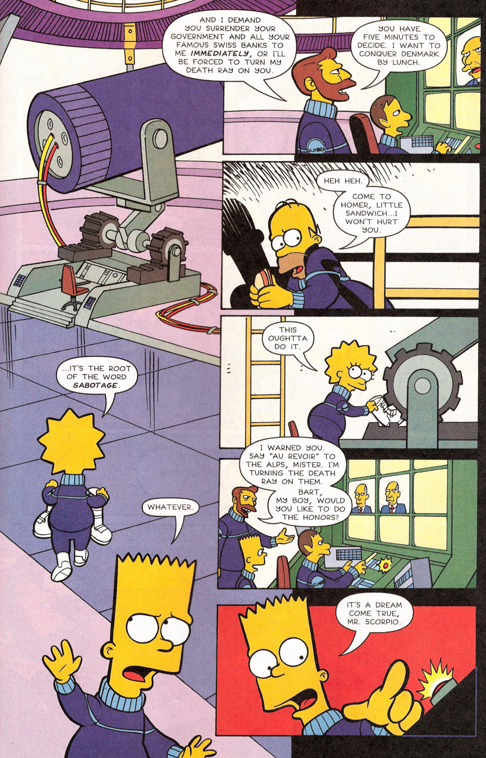 Read online Simpsons Comics comic -  Issue #117 - 23