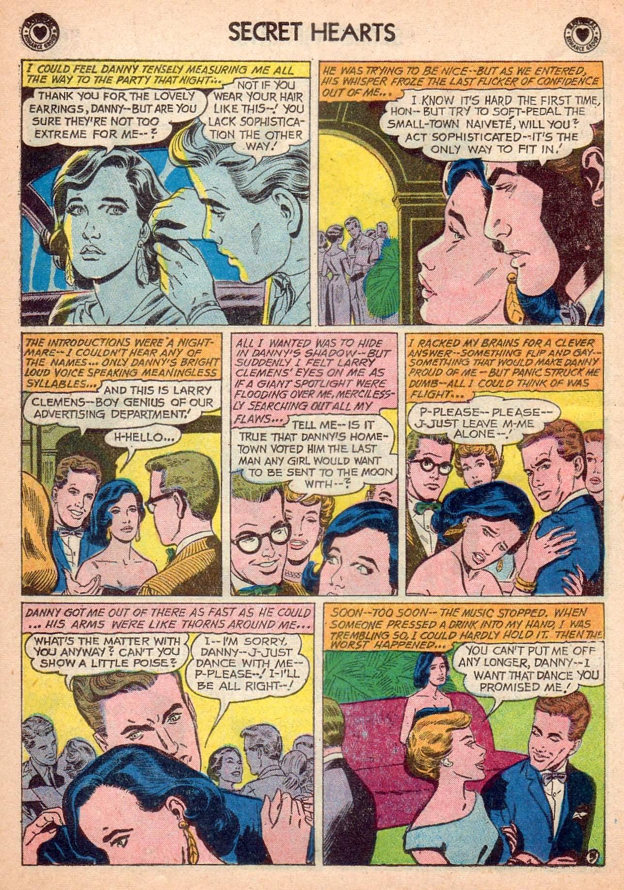 Read online Secret Hearts comic -  Issue #63 - 22