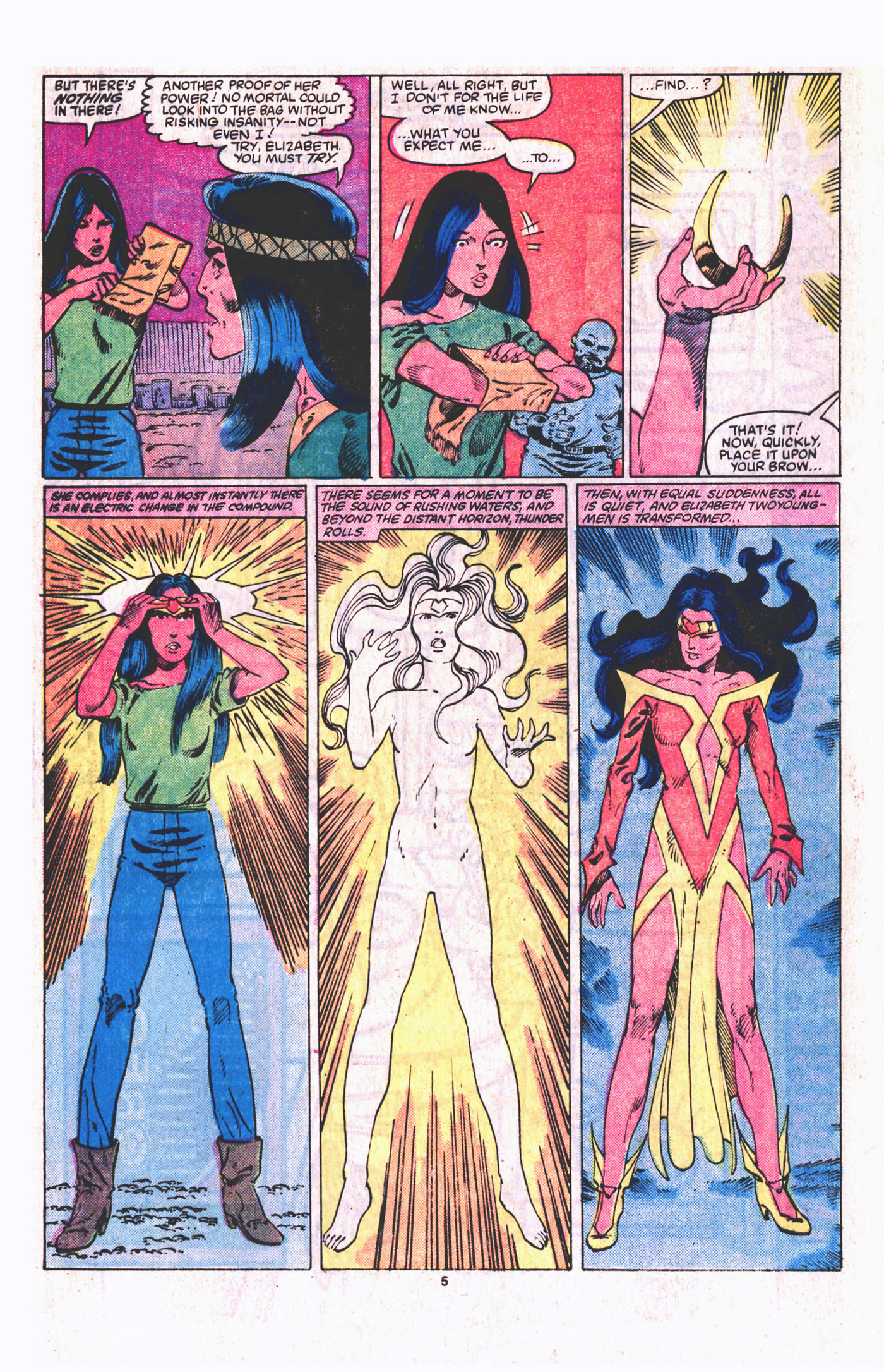 Read online Alpha Flight (1983) comic -  Issue #19 - 6