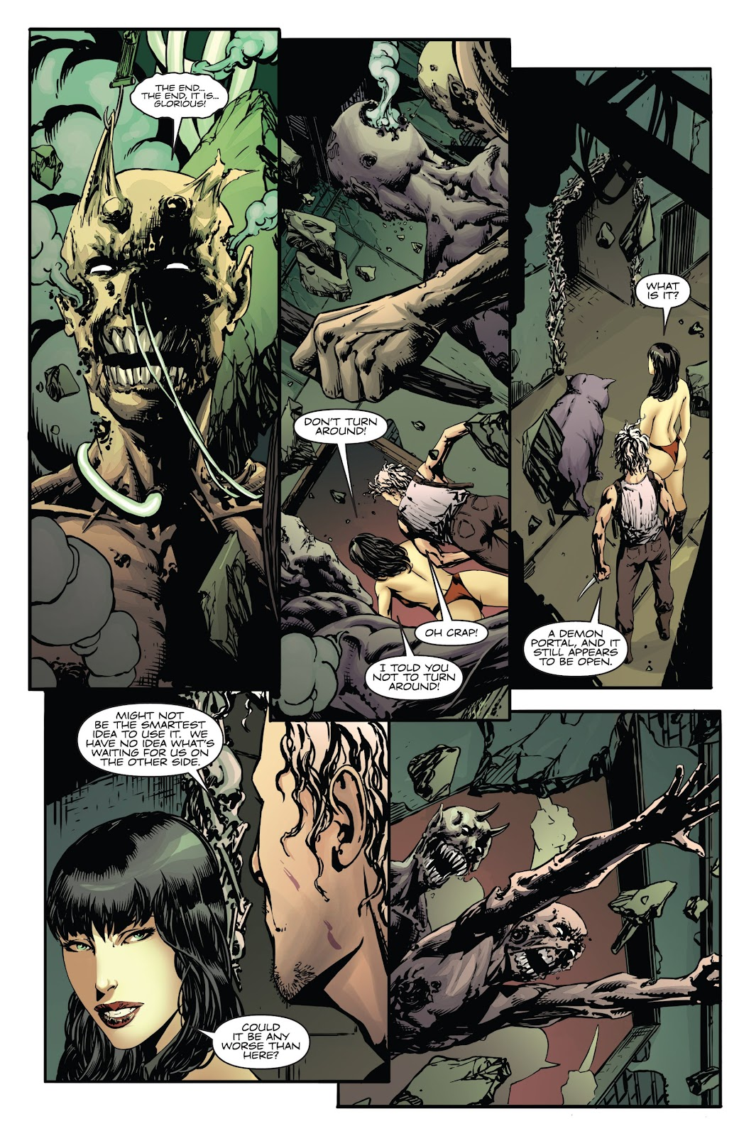 Read online Vampirella Strikes comic -  Issue #6 - 10