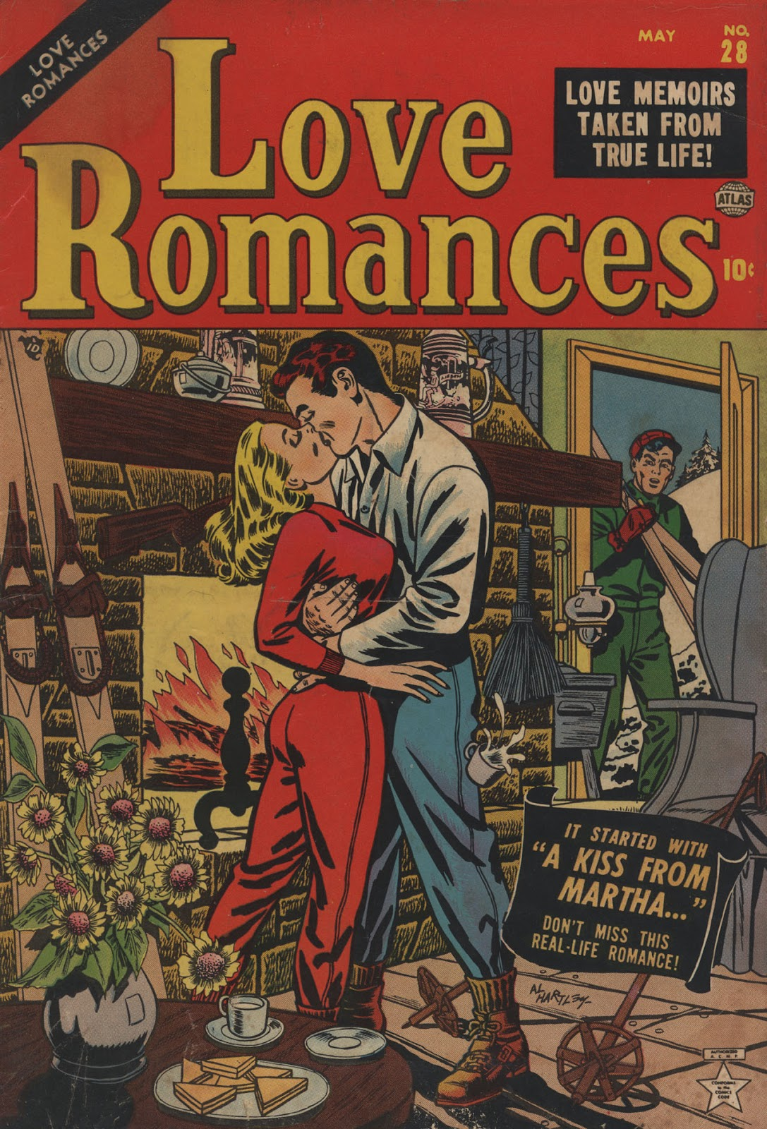 Love Romances (1949) issue 28 - Page 1