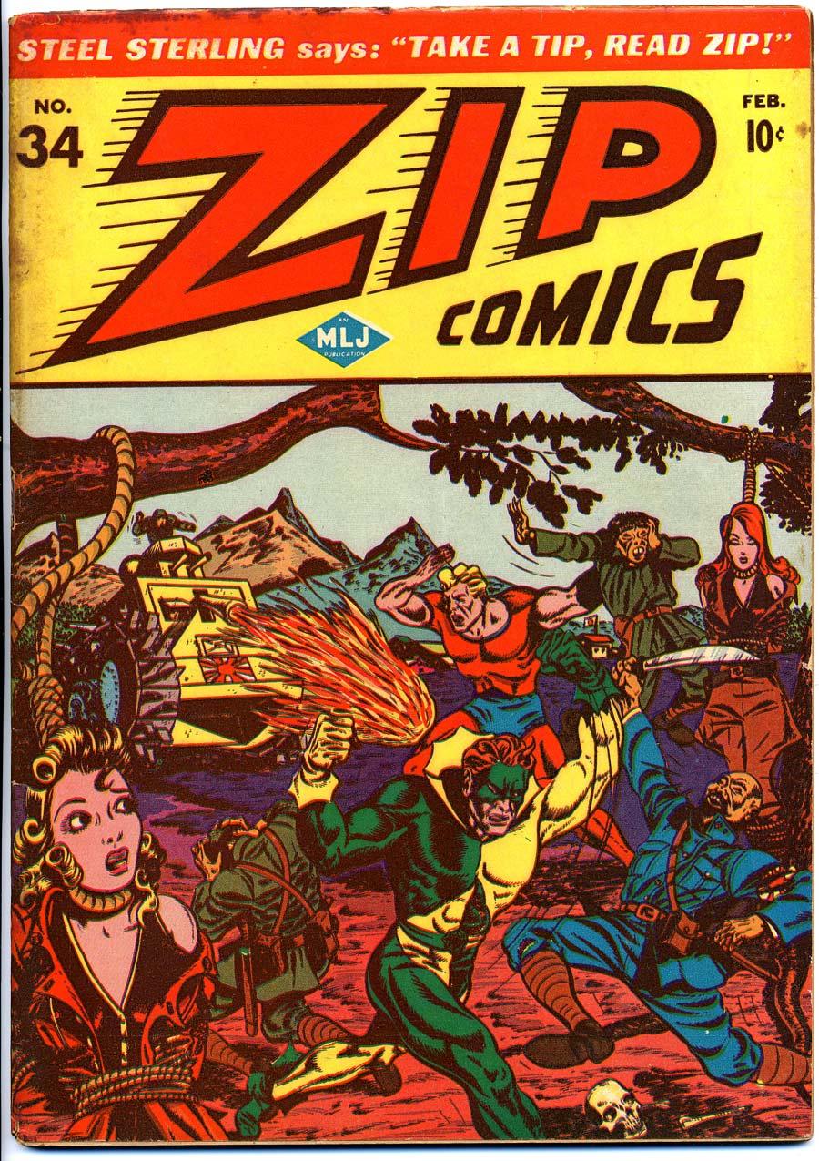 Zip Comics 34 Page 1
