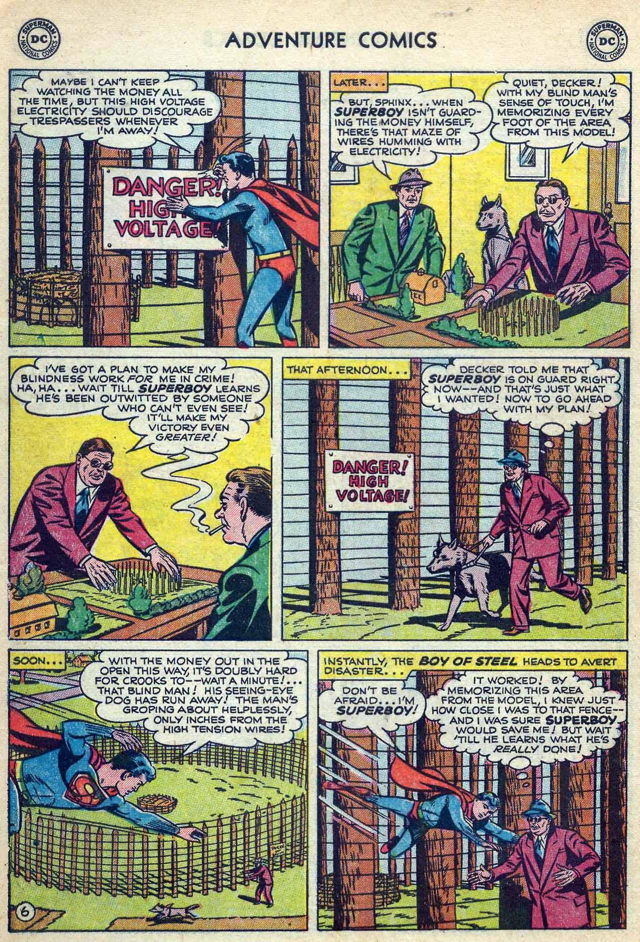 Read online Adventure Comics (1938) comic -  Issue #180 - 8