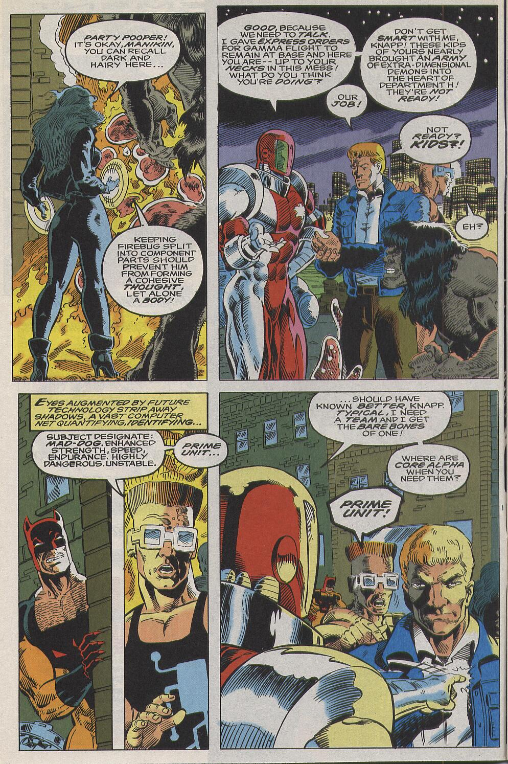 Read online Alpha Flight (1983) comic -  Issue #111 - 6