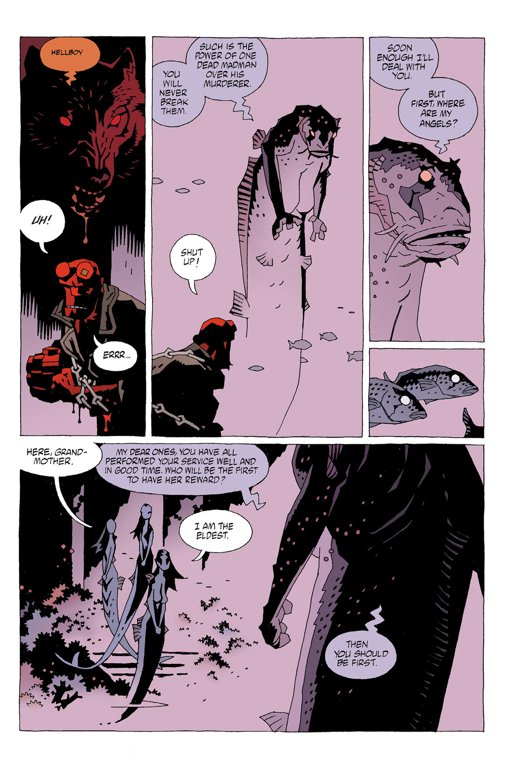 Read online Hellboy: Strange Places comic -  Issue # TPB - 29