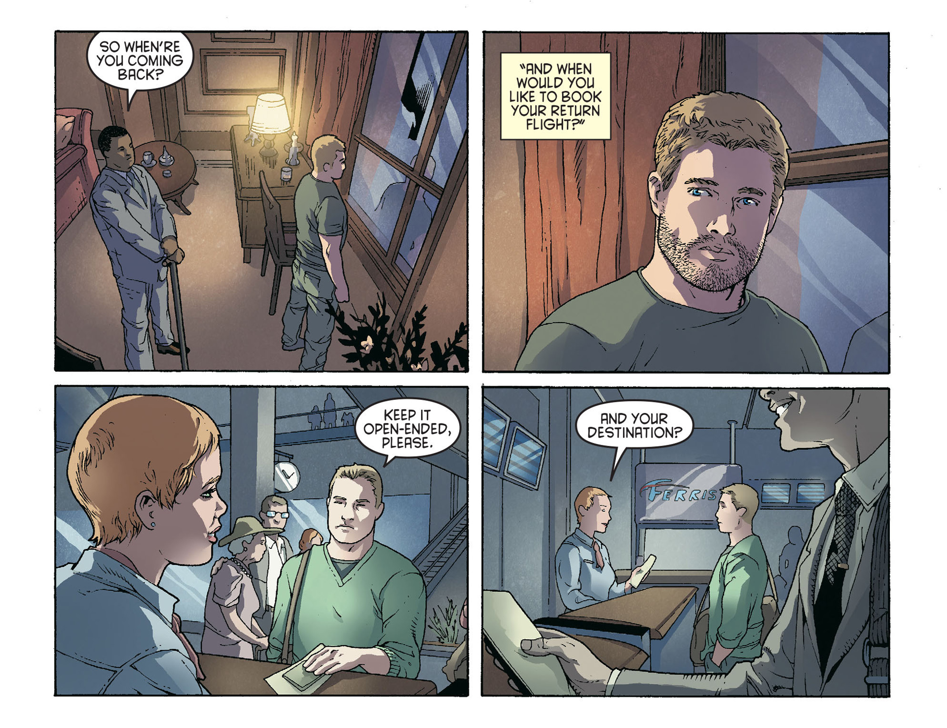 Read online Arrow [II] comic -  Issue #36 - 21