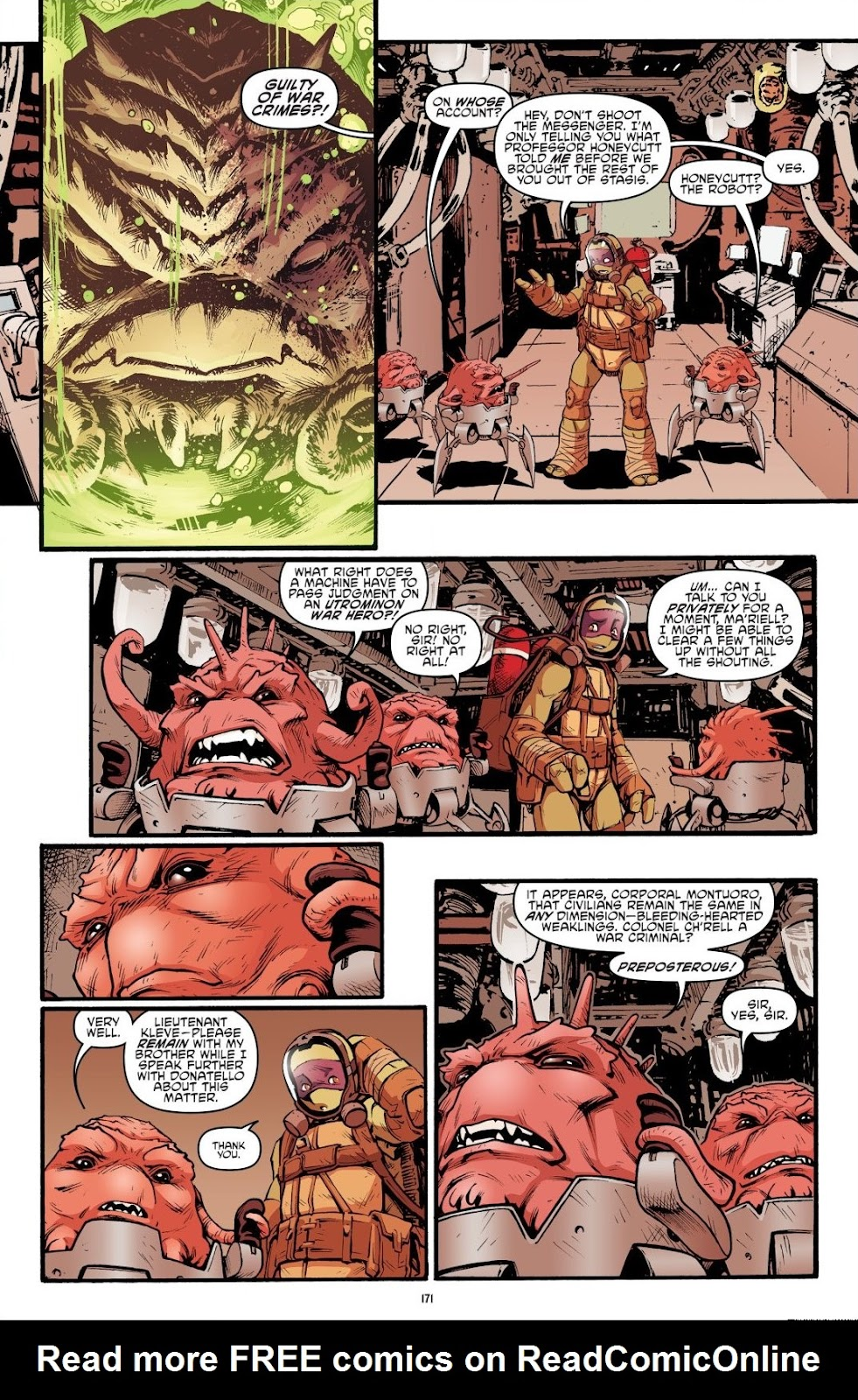 Read online Teenage Mutant Ninja Turtles: The IDW Collection comic -  Issue # TPB 7 (Part 2) - 65
