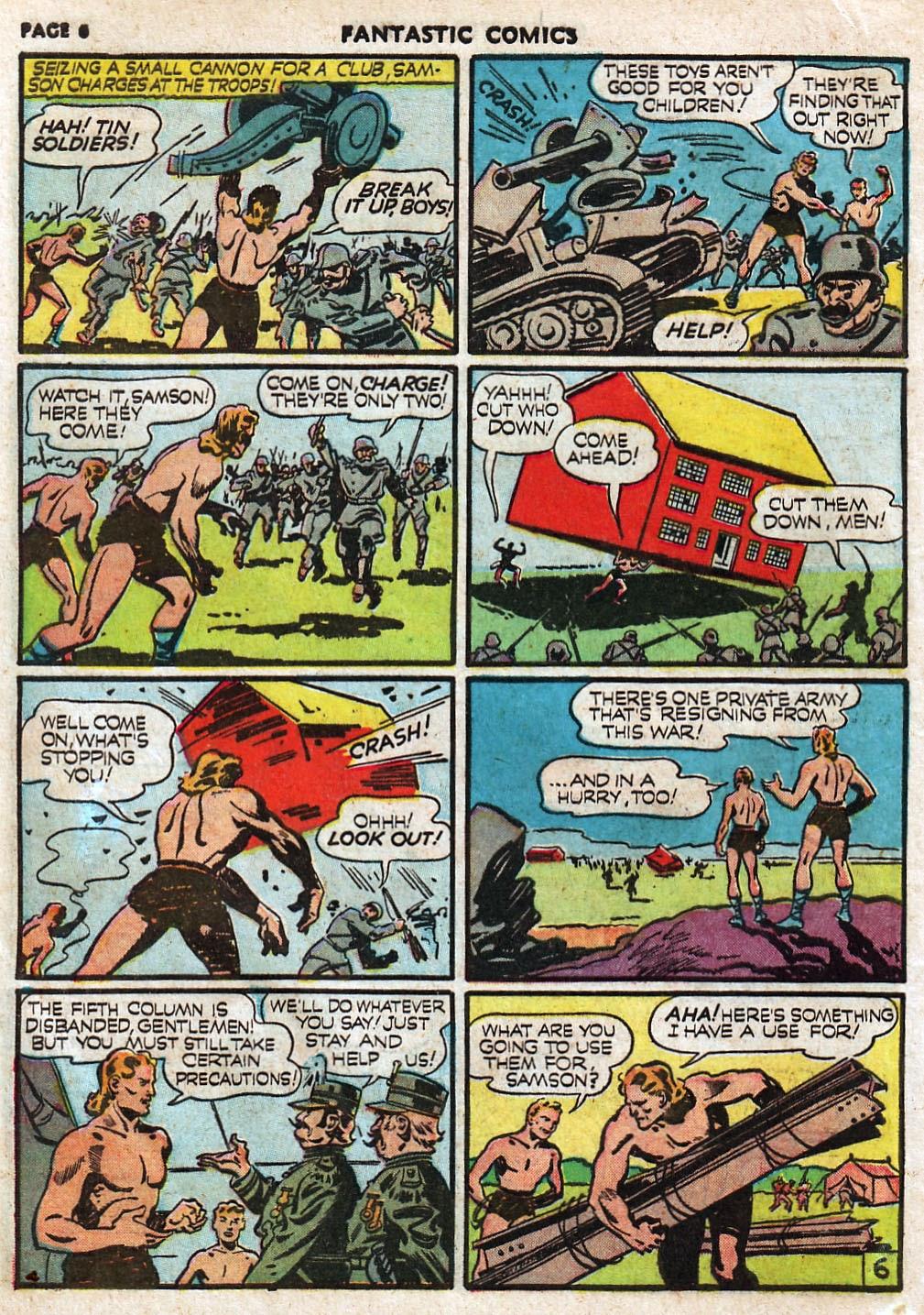Read online Fantastic Comics comic -  Issue #17 - 8