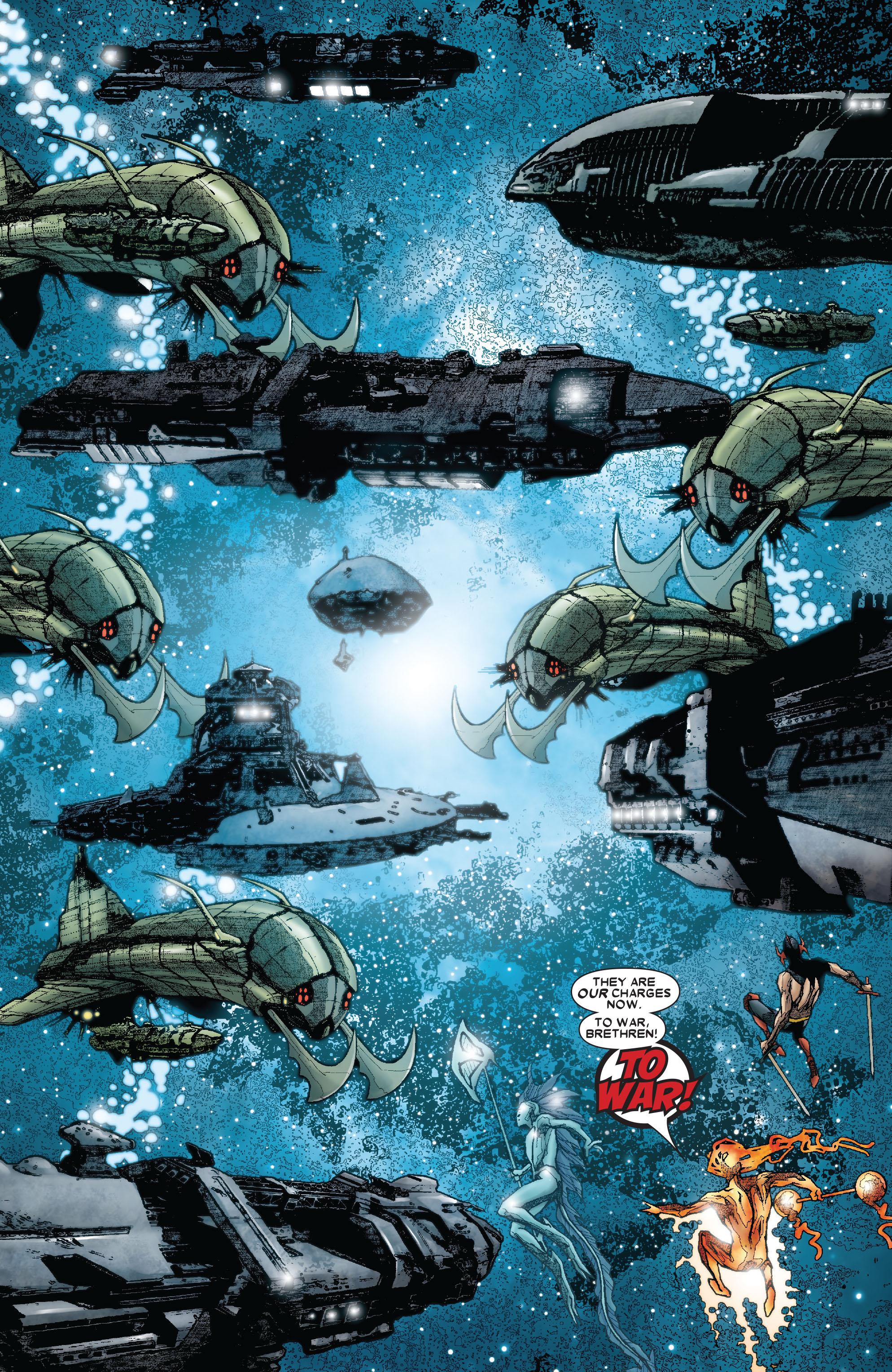 Read online Annihilation: Silver Surfer comic -  Issue #3 - 12