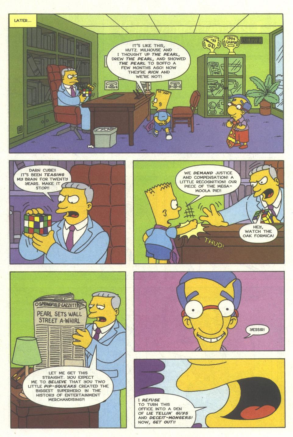 Read online Simpsons Comics comic -  Issue #13 - 15