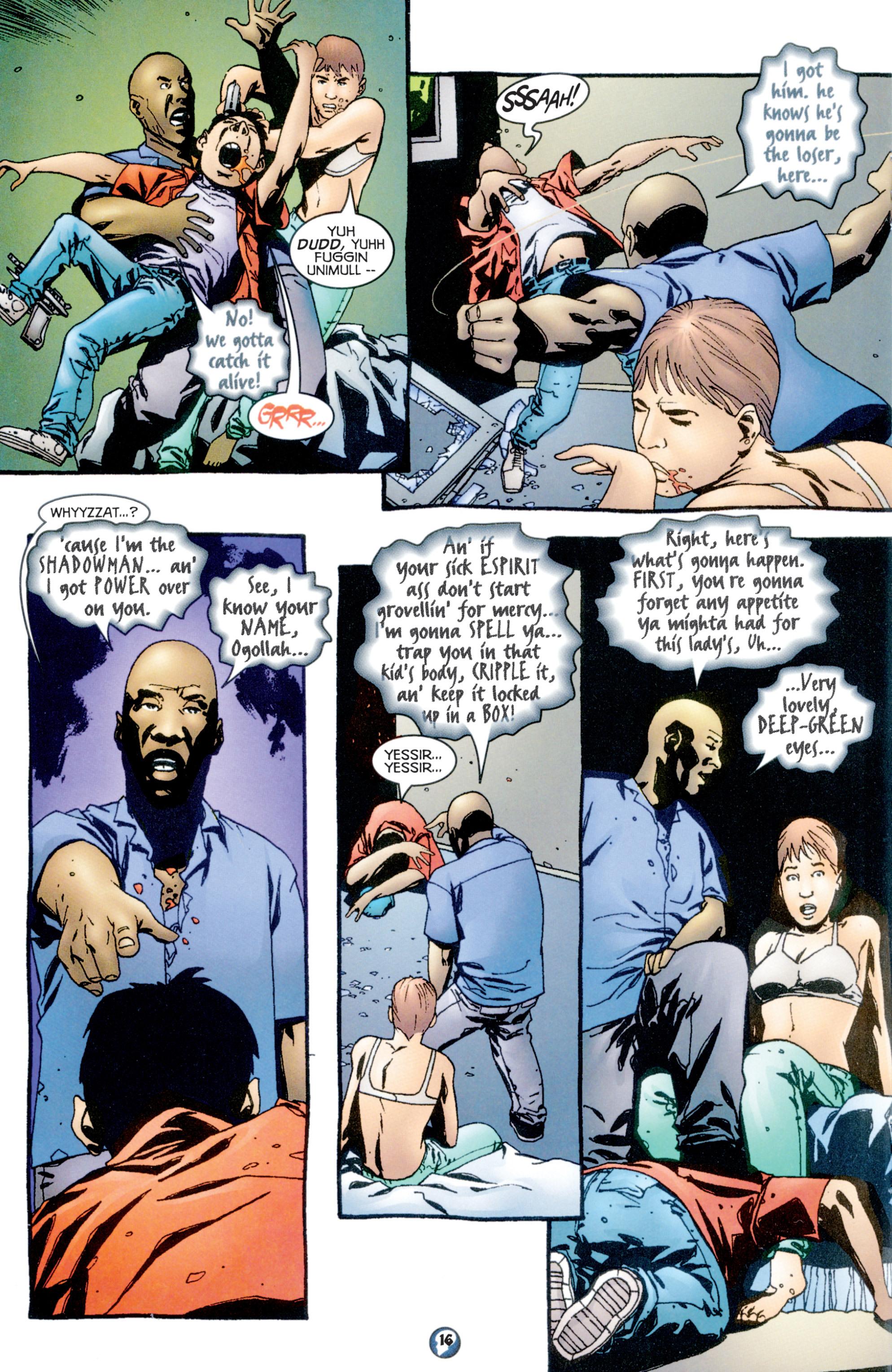 Read online Shadowman (1997) comic -  Issue #10 - 13