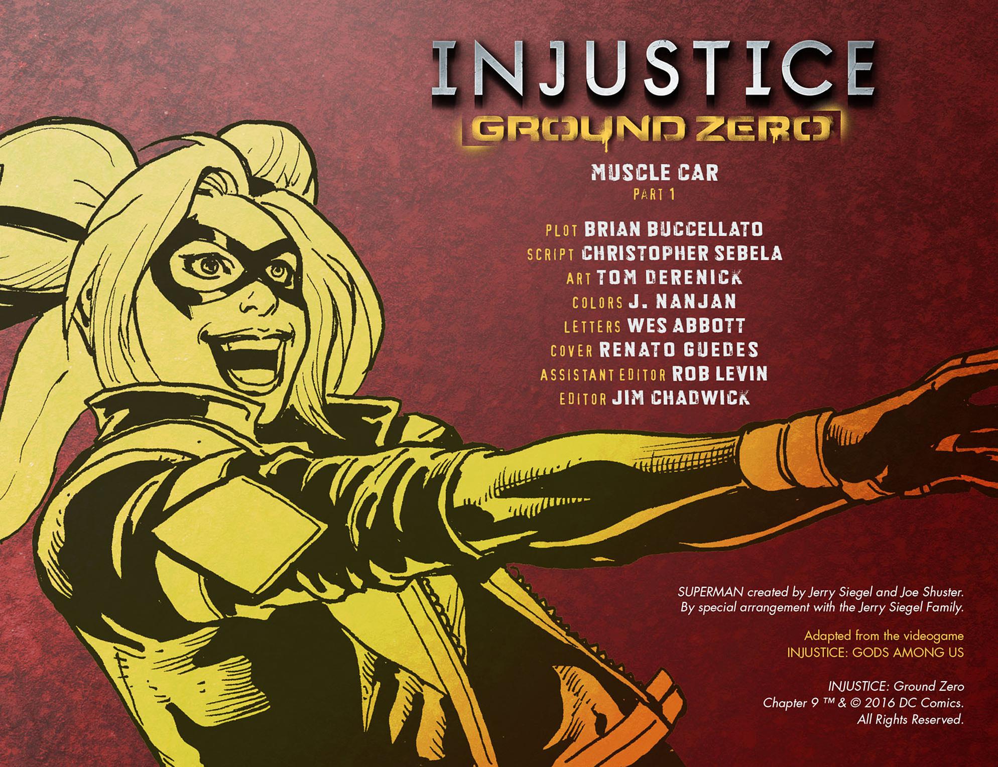 Read online Injustice: Ground Zero comic -  Issue #9 - 3