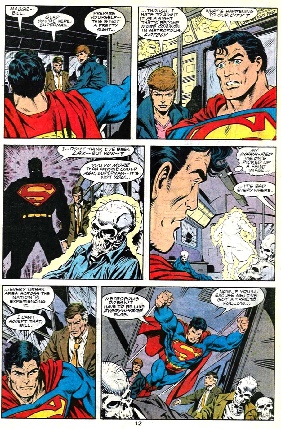 Read online Adventures of Superman (1987) comic -  Issue #481 - 13