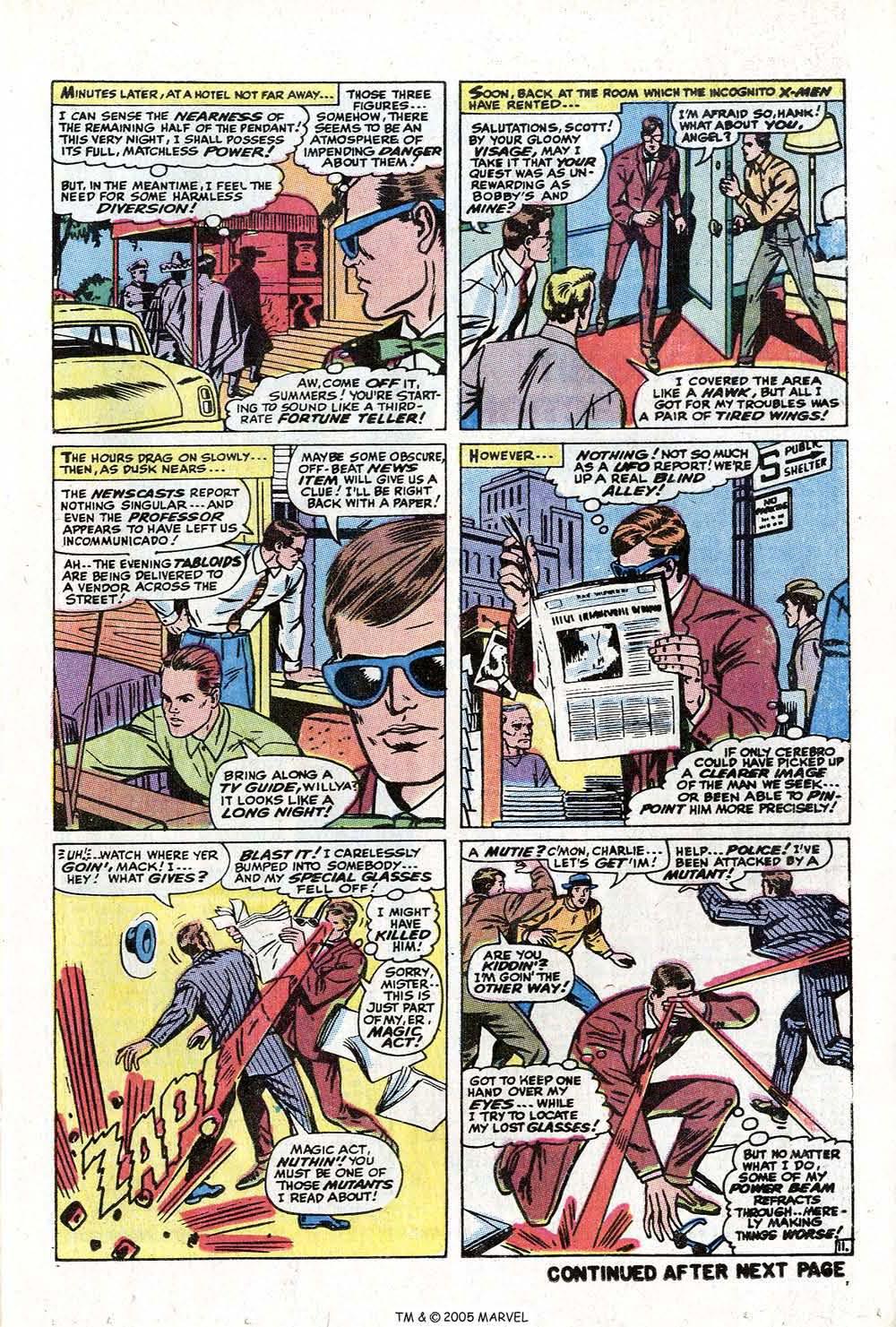 Read online Uncanny X-Men (1963) comic -  Issue #73 - 17