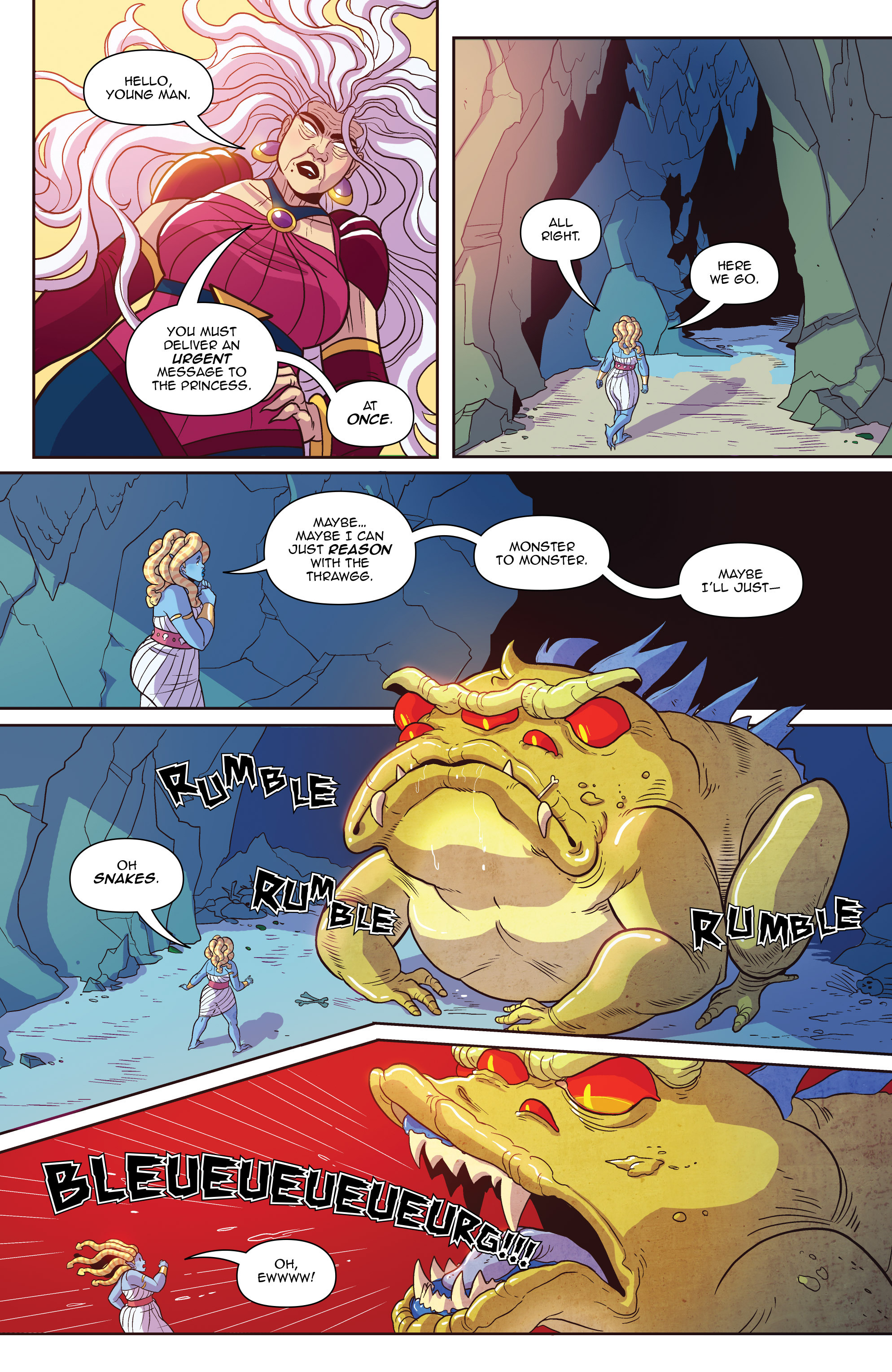 Read online Another Castle comic -  Issue #3 - 22