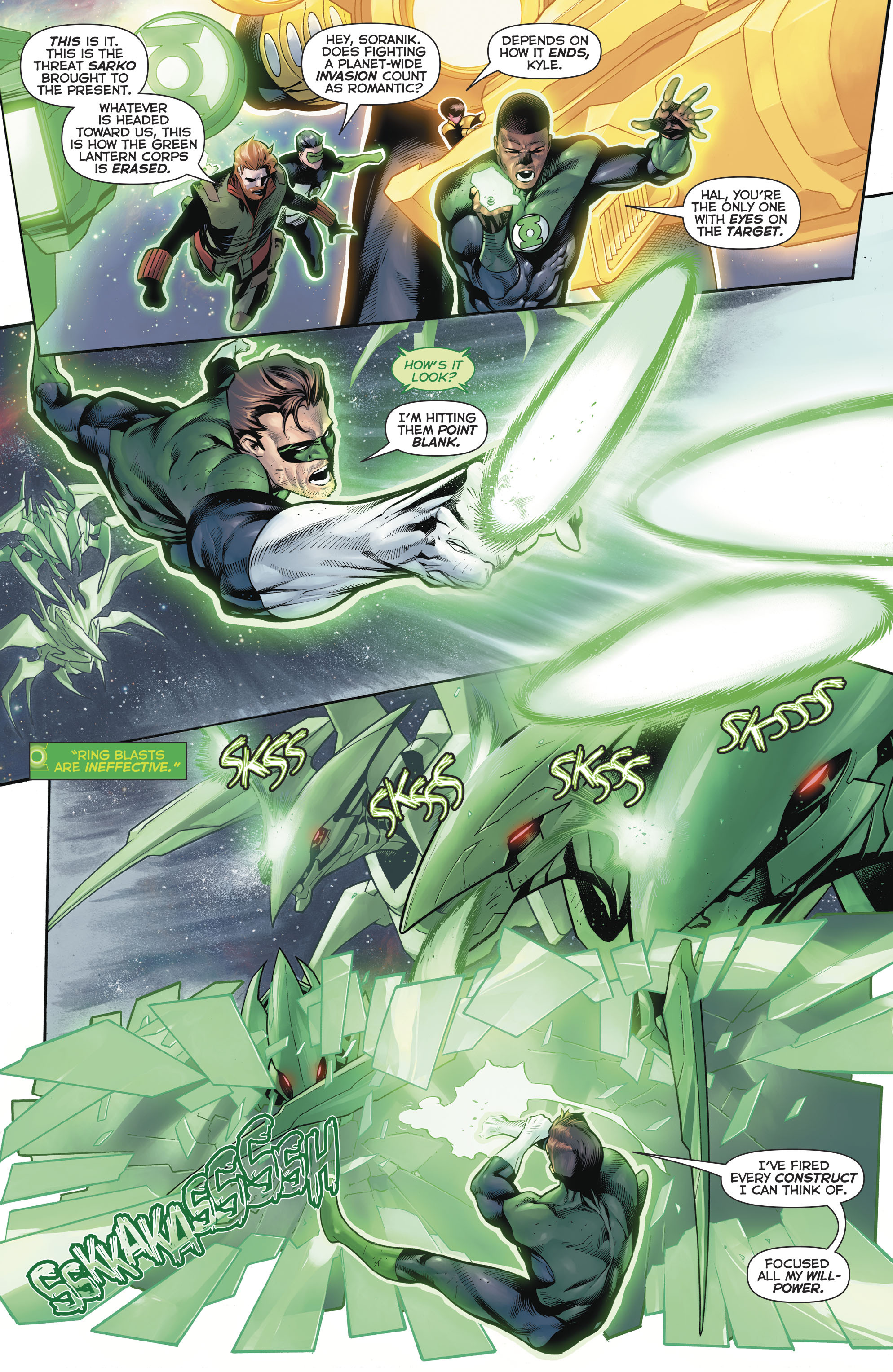 Read online Hal Jordan And The Green Lantern Corps comic -  Issue #20 - 6
