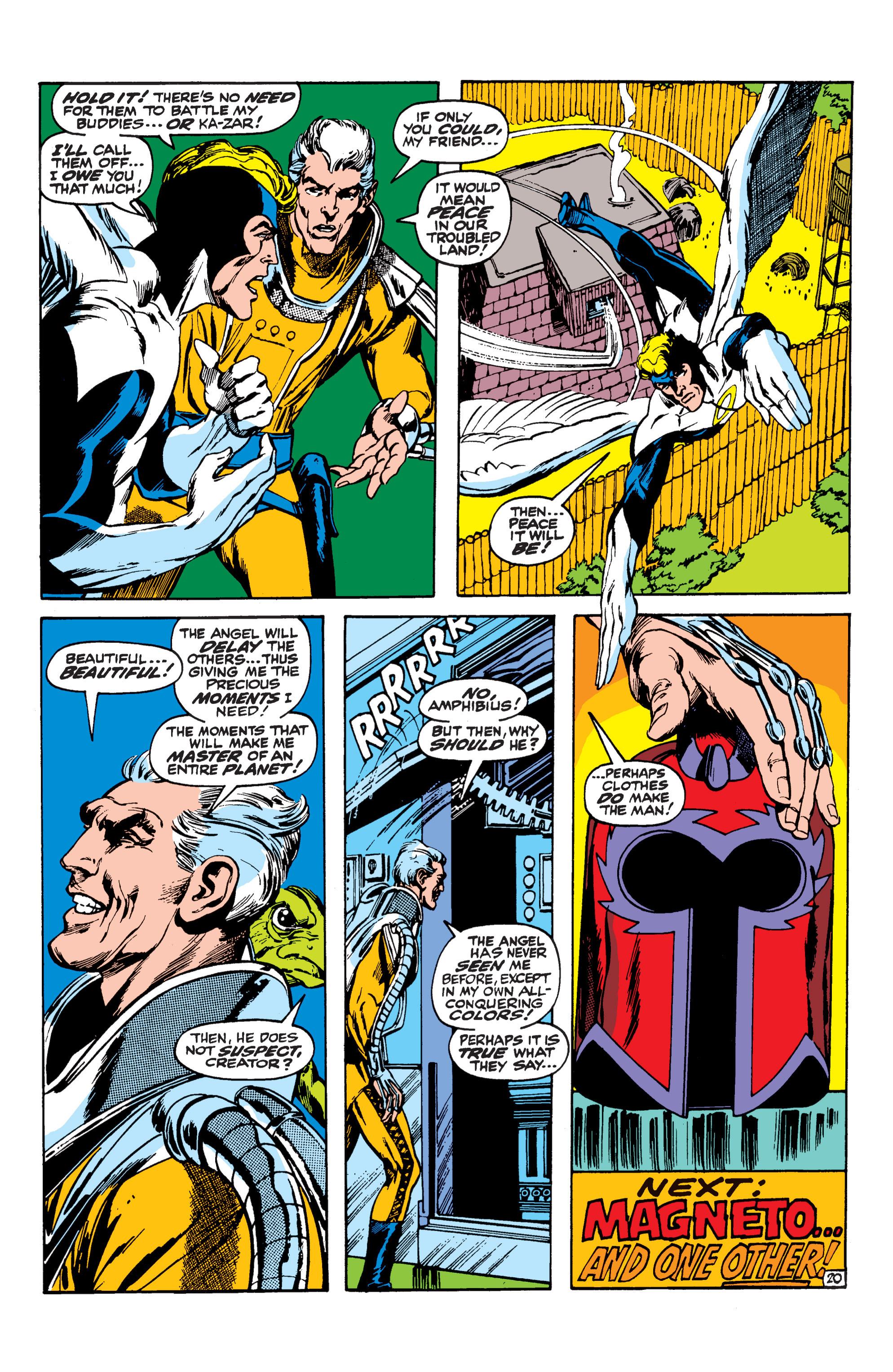 Uncanny X-Men (1963) 62 Page 20