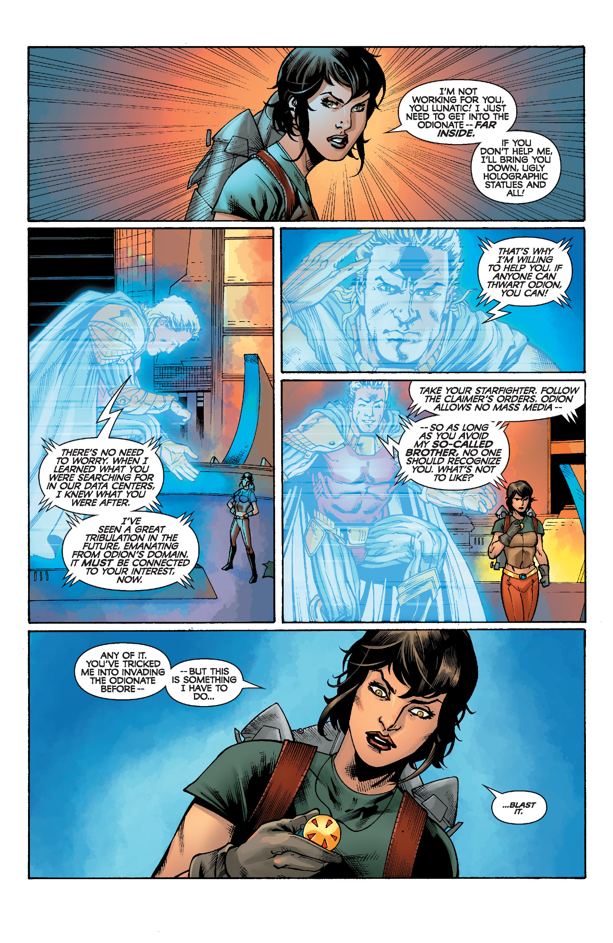 Read online Star Wars: Knight Errant - Escape comic -  Issue #1 - 9