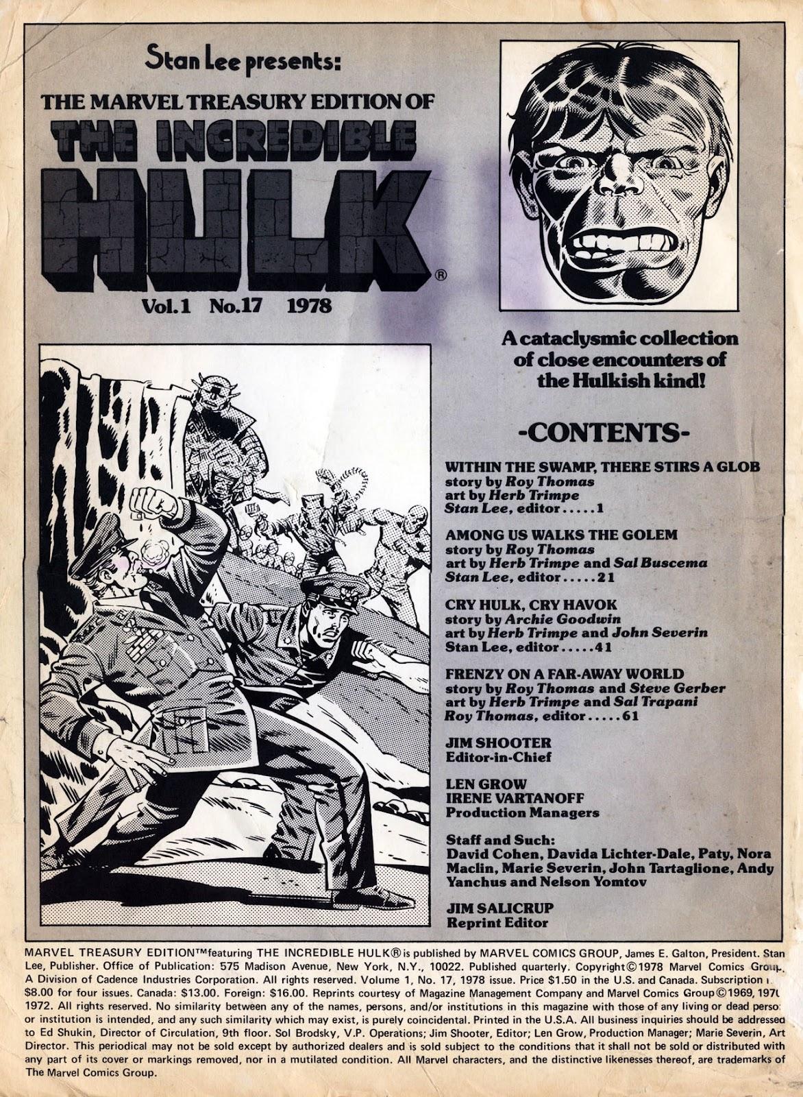 Marvel Treasury Edition 17 Page 1