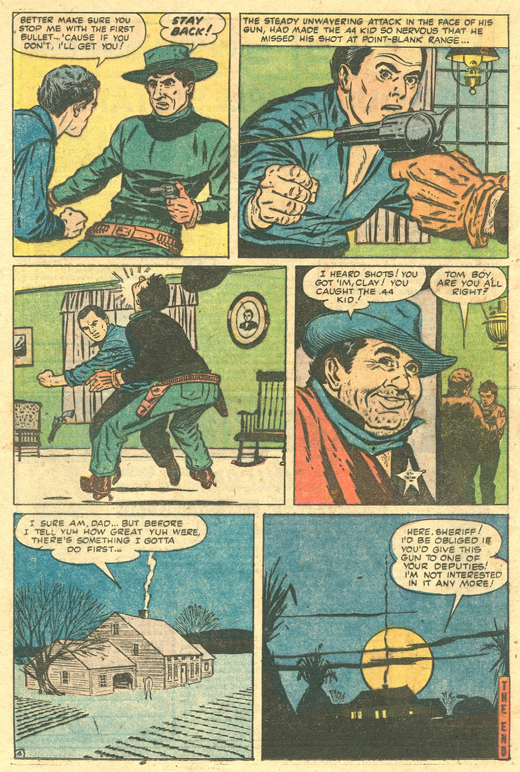 Gunsmoke Western issue 33 - Page 21