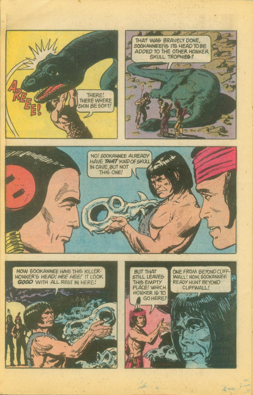 Read online Turok, Son of Stone comic -  Issue #120 - 26