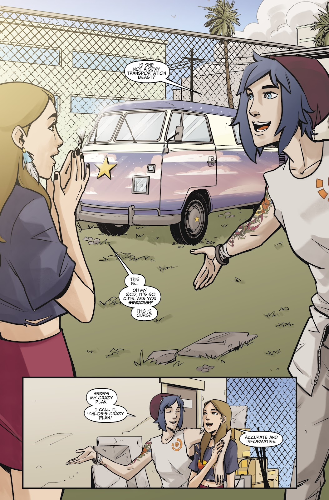 Read online Life is Strange comic -  Issue #10 - 8