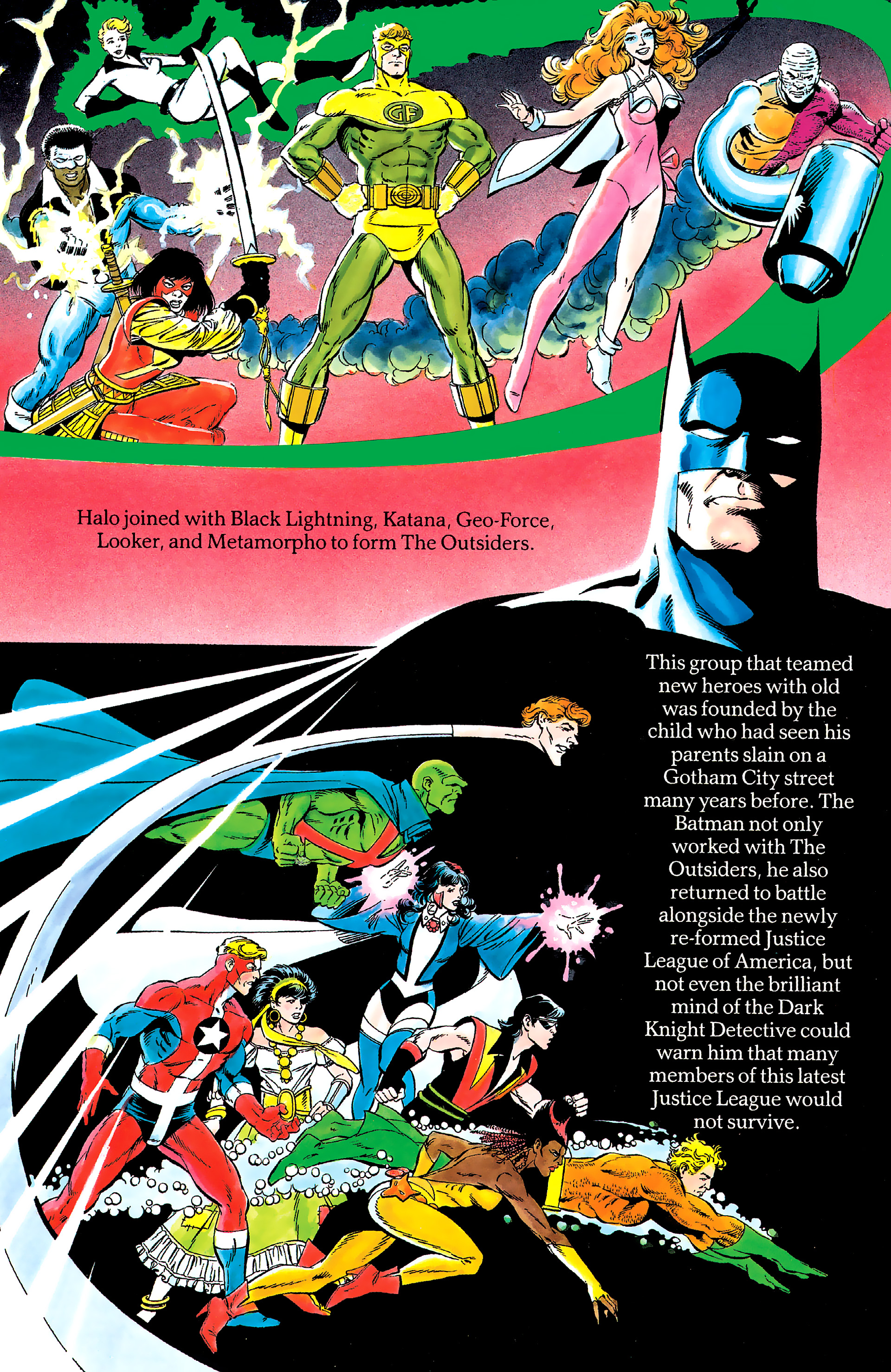 Read online History of the DC Universe comic -  Issue #2 - 33