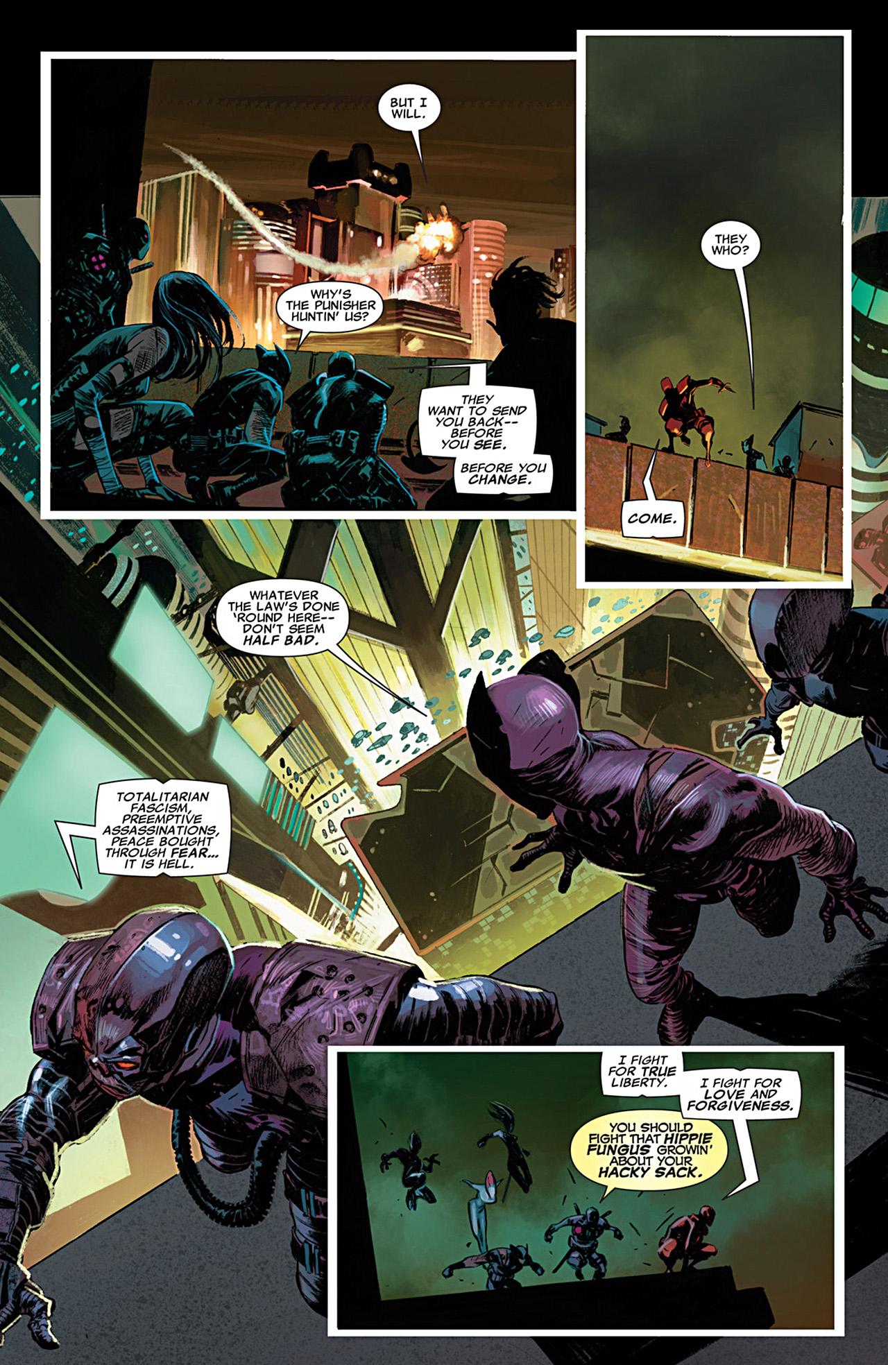 Uncanny X-Force (2010) #28 #30 - English 12