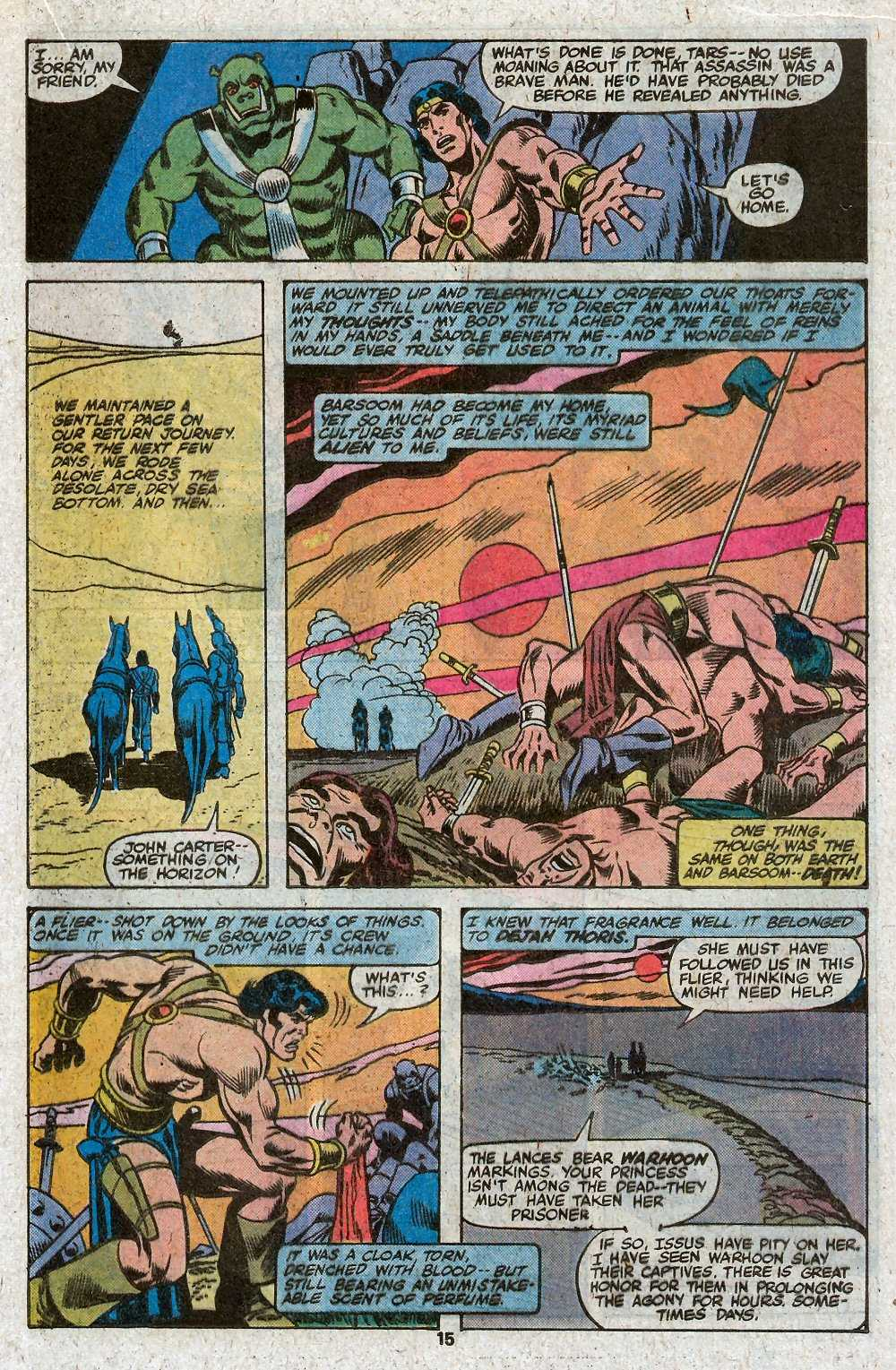 John Carter Warlord of Mars issue 27 - Page 17