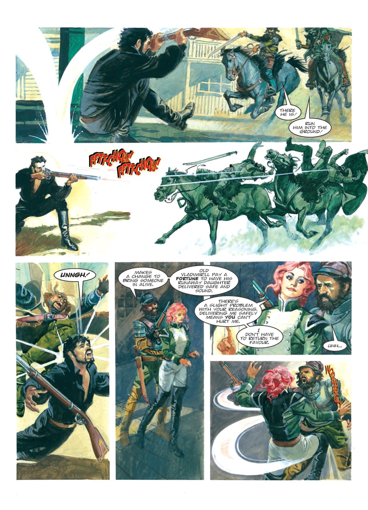 Read online Nikolai Dante comic -  Issue # TPB 9 - 116