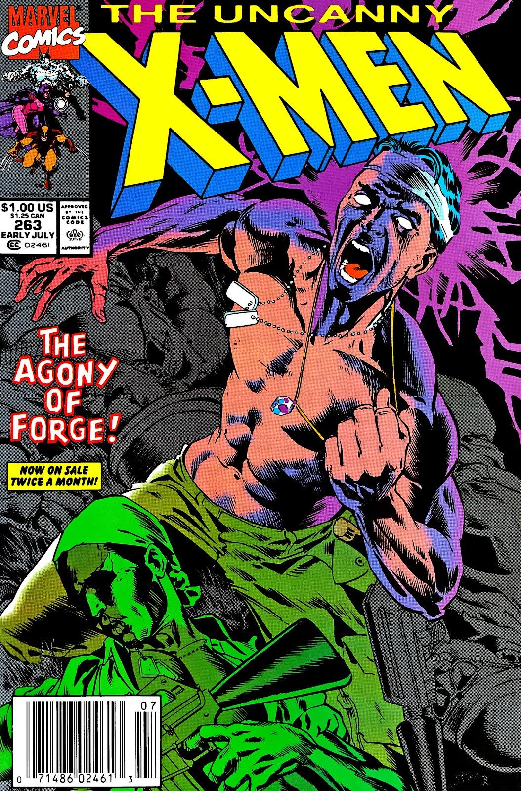 Uncanny X-Men (1963) 263 Page 1