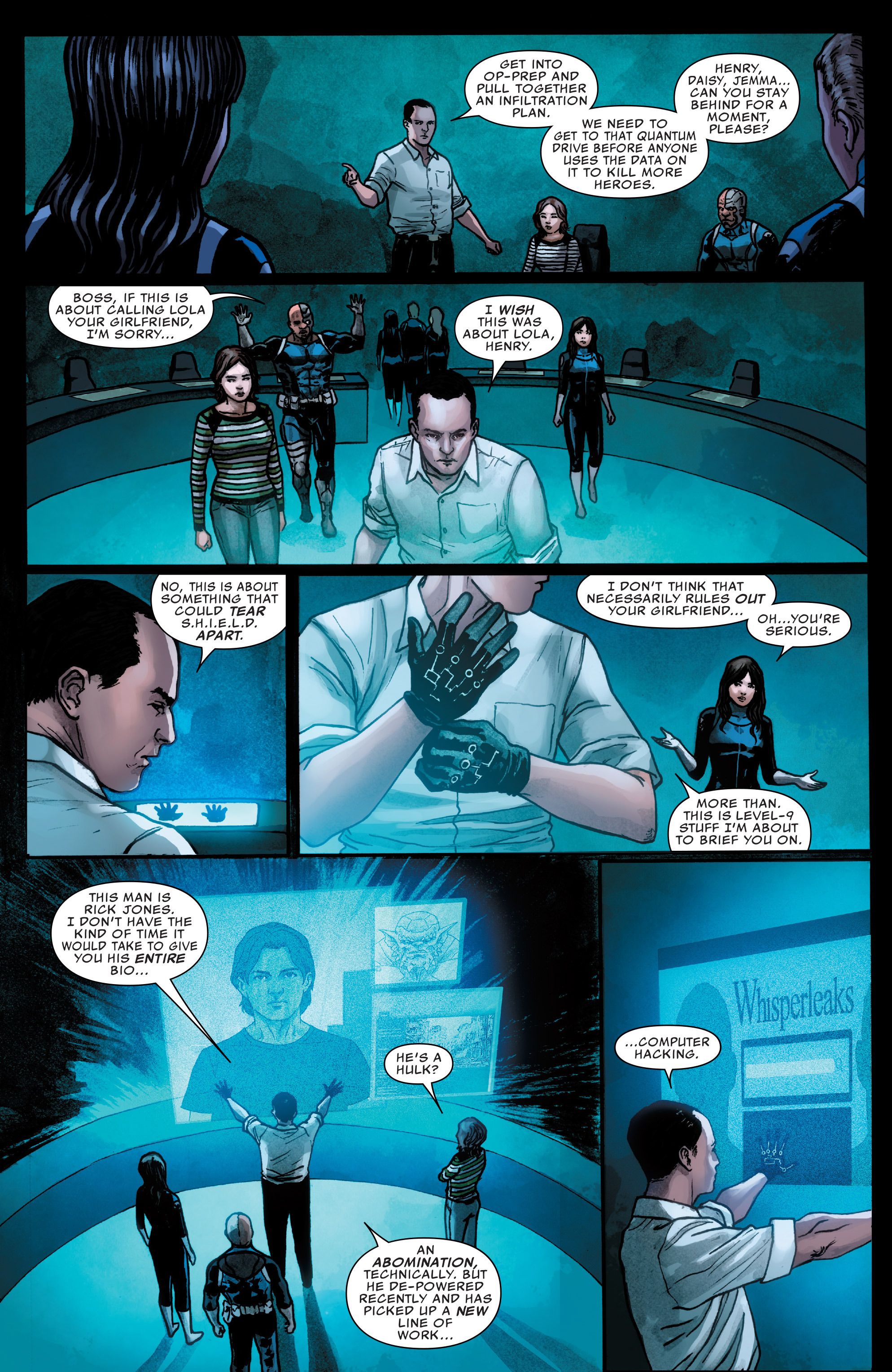 Read online Agents of S.H.I.E.L.D. comic -  Issue #3 - 8