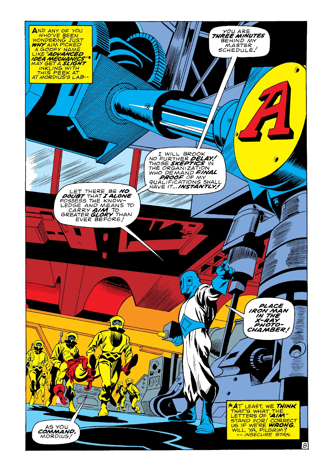 Read online Marvel Masterworks: The Invincible Iron Man comic -  Issue # TPB 4 (Part 3) - 32