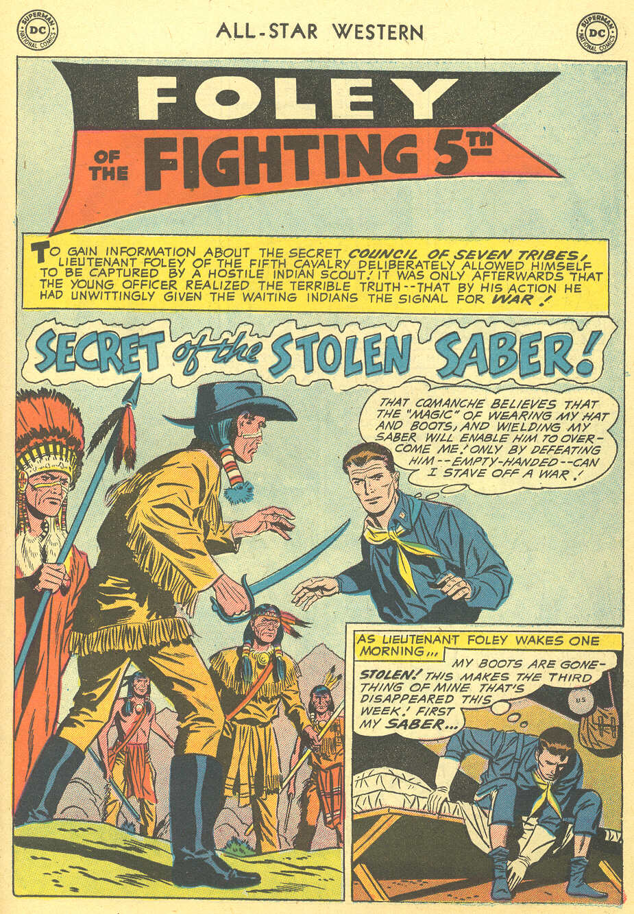 Read online All-Star Western (1951) comic -  Issue #92 - 19